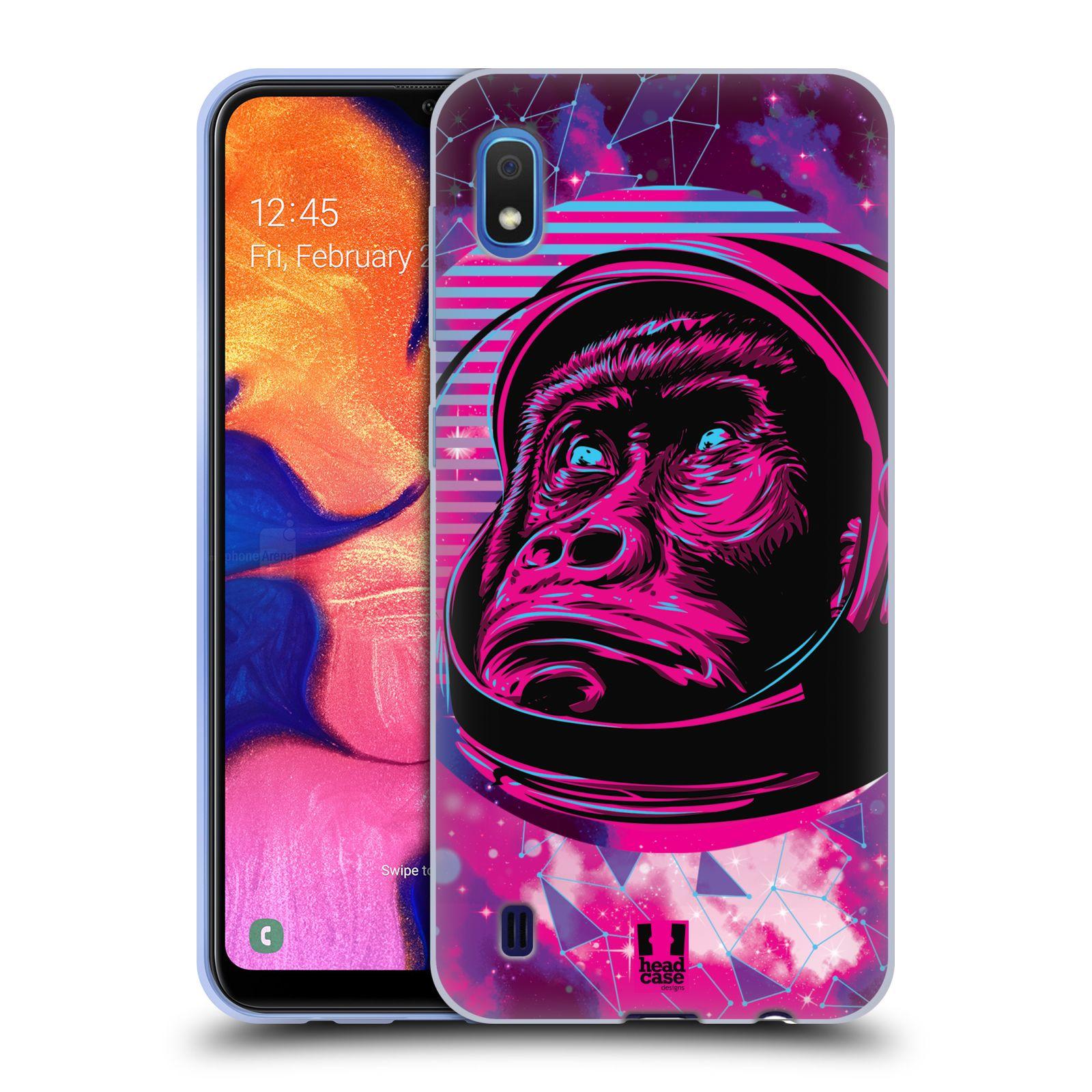 Silikonové pouzdro na mobil Samsung Galaxy A10 - Head Case - Gorila ve skafandru