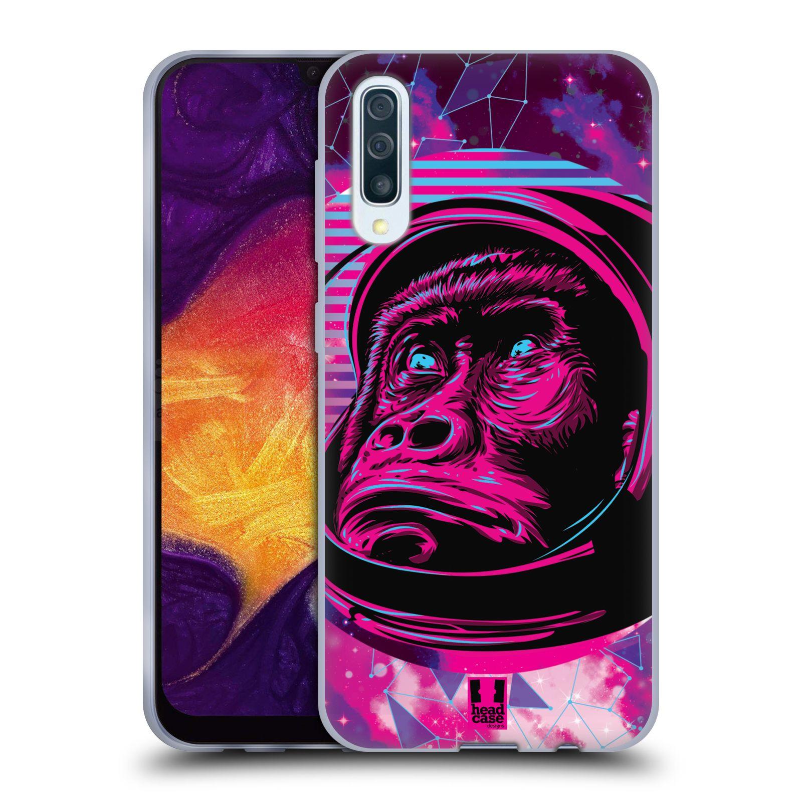 Silikonové pouzdro na mobil Samsung Galaxy A50 / A30s - Head Case - Gorila ve skafandru
