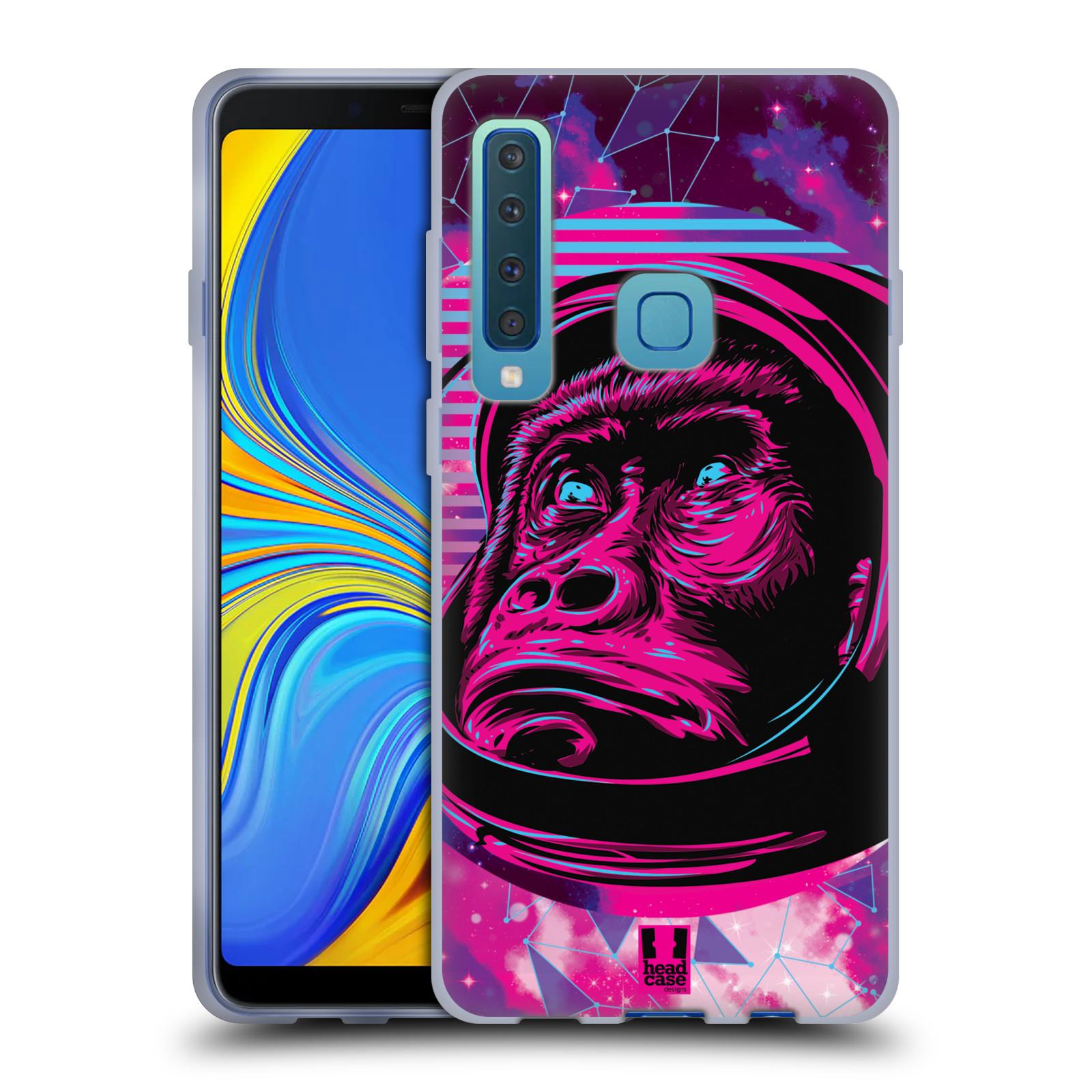 Silikonové pouzdro na mobil Samsung Galaxy A9 (2018) - Head Case - Gorila ve skafandru