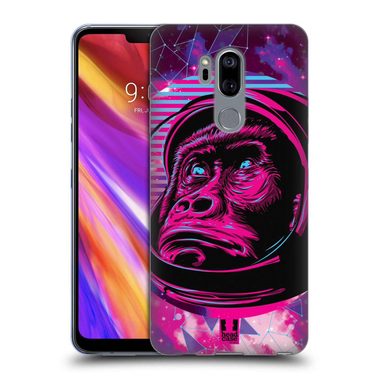 Silikonové pouzdro na mobil LG G7 ThinQ - Head Case - Gorila ve skafandru