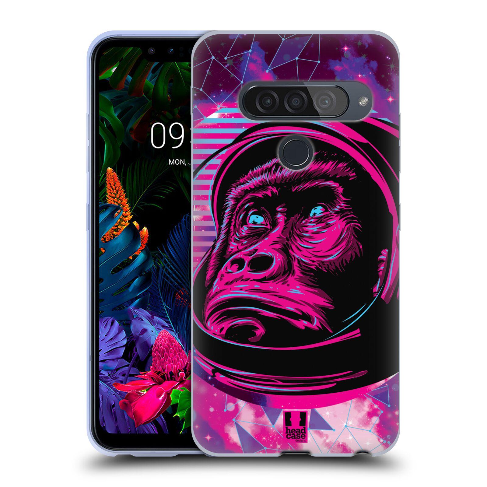 Silikonové pouzdro na mobil LG G8s ThinQ - Head Case - Gorila ve skafandru