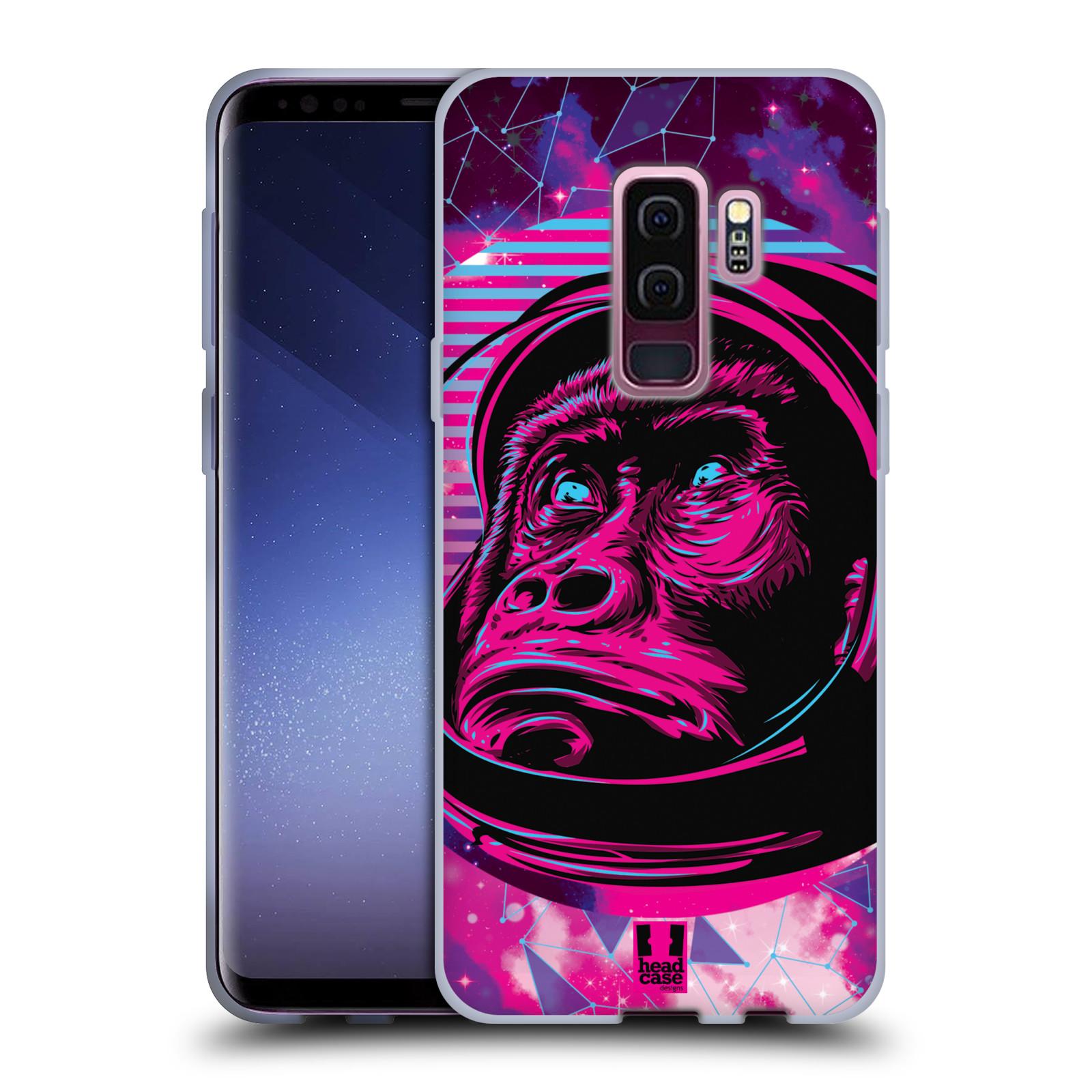 Silikonové pouzdro na mobil Samsung Galaxy S9 Plus - Head Case - Gorila ve skafandru