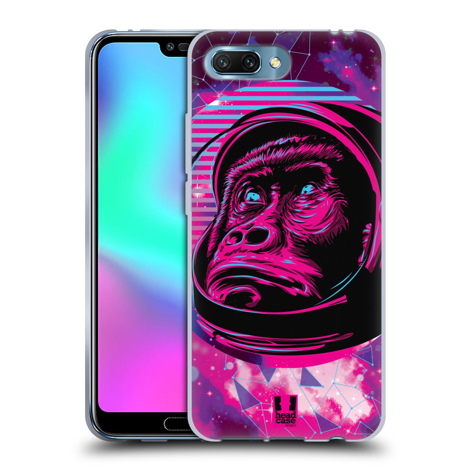 Silikonové pouzdro na mobil Honor 10 - Head Case - Gorila ve skafandru