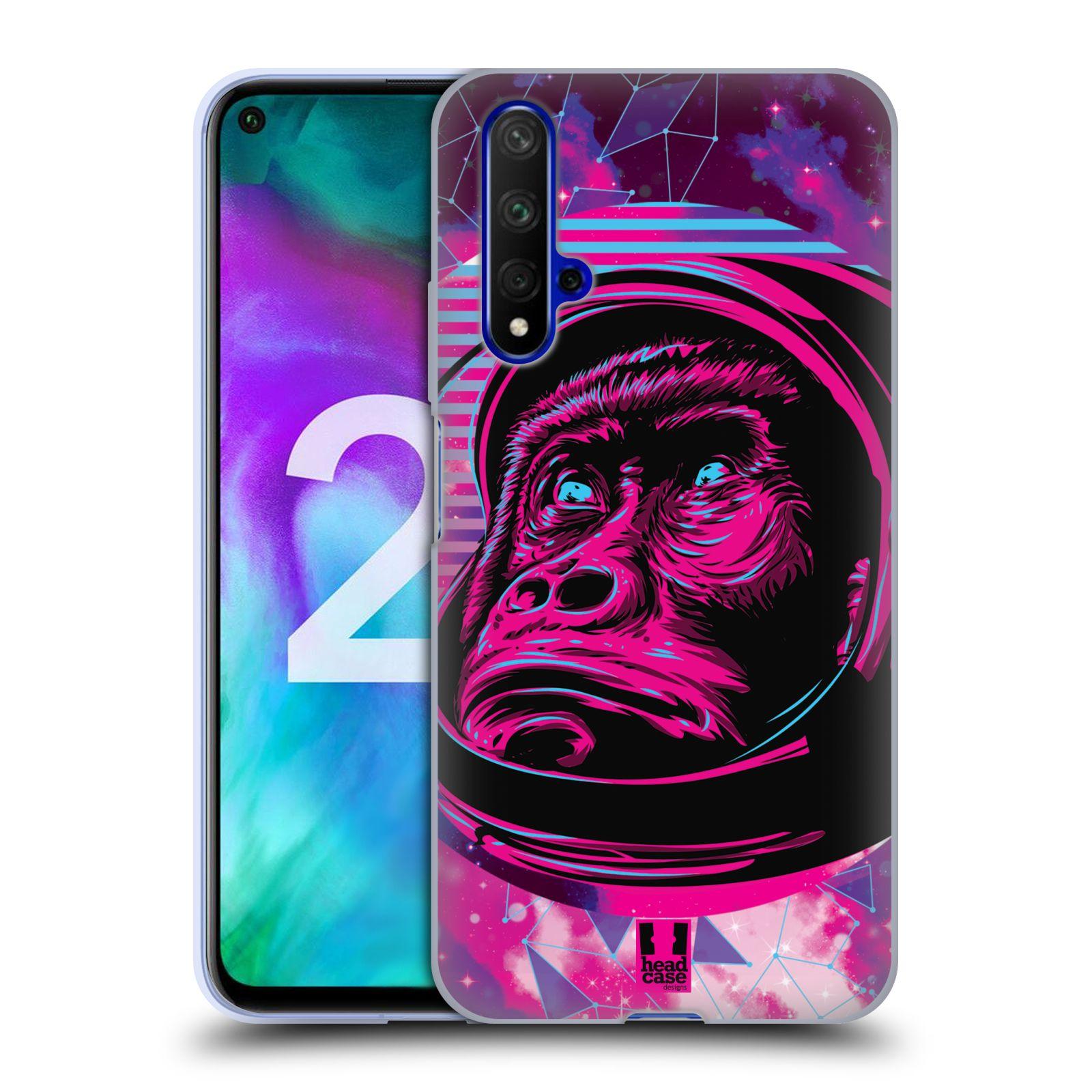 Silikonové pouzdro na mobil Honor 20 - Head Case - Gorila ve skafandru
