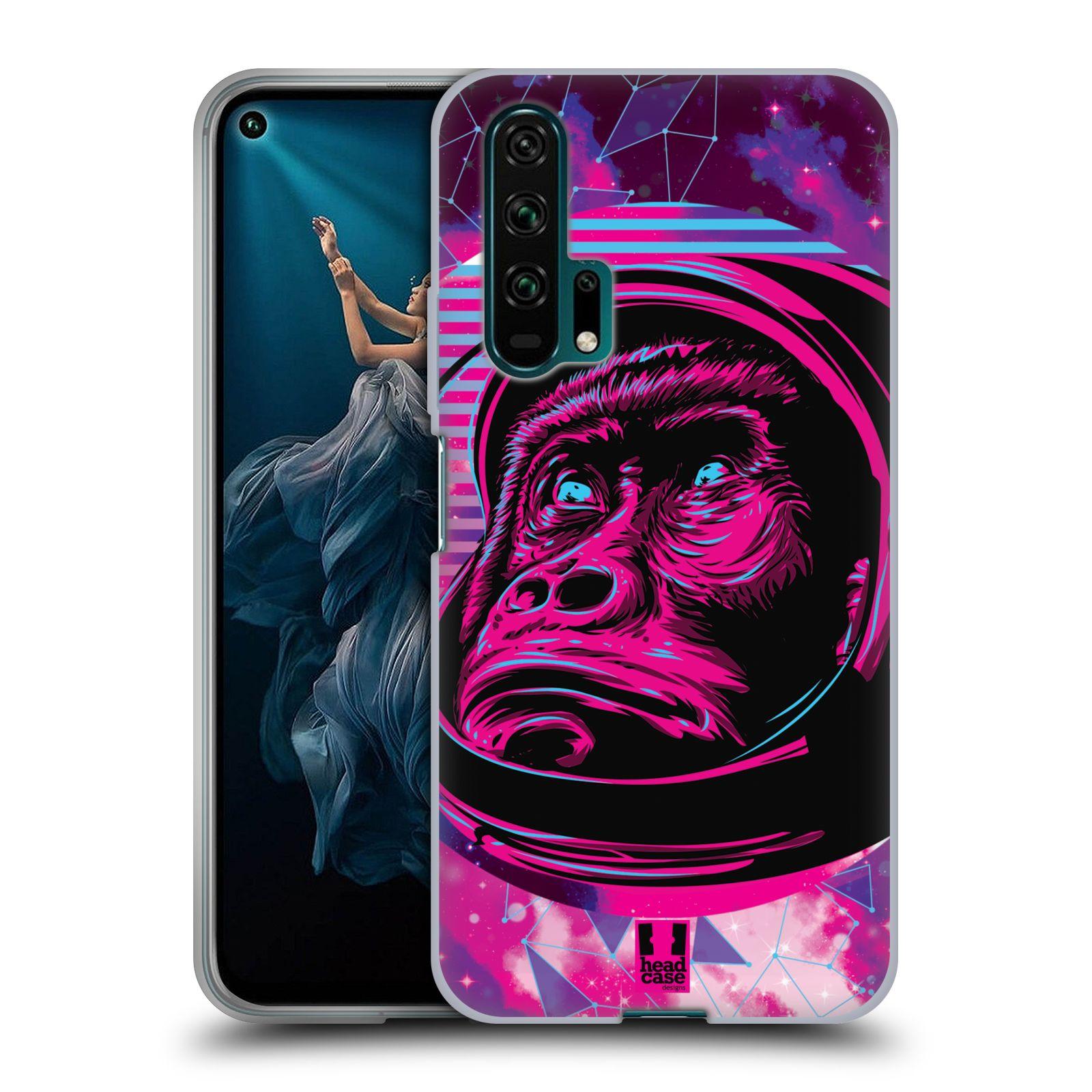 Silikonové pouzdro na mobil Honor 20 Pro - Head Case - Gorila ve skafandru
