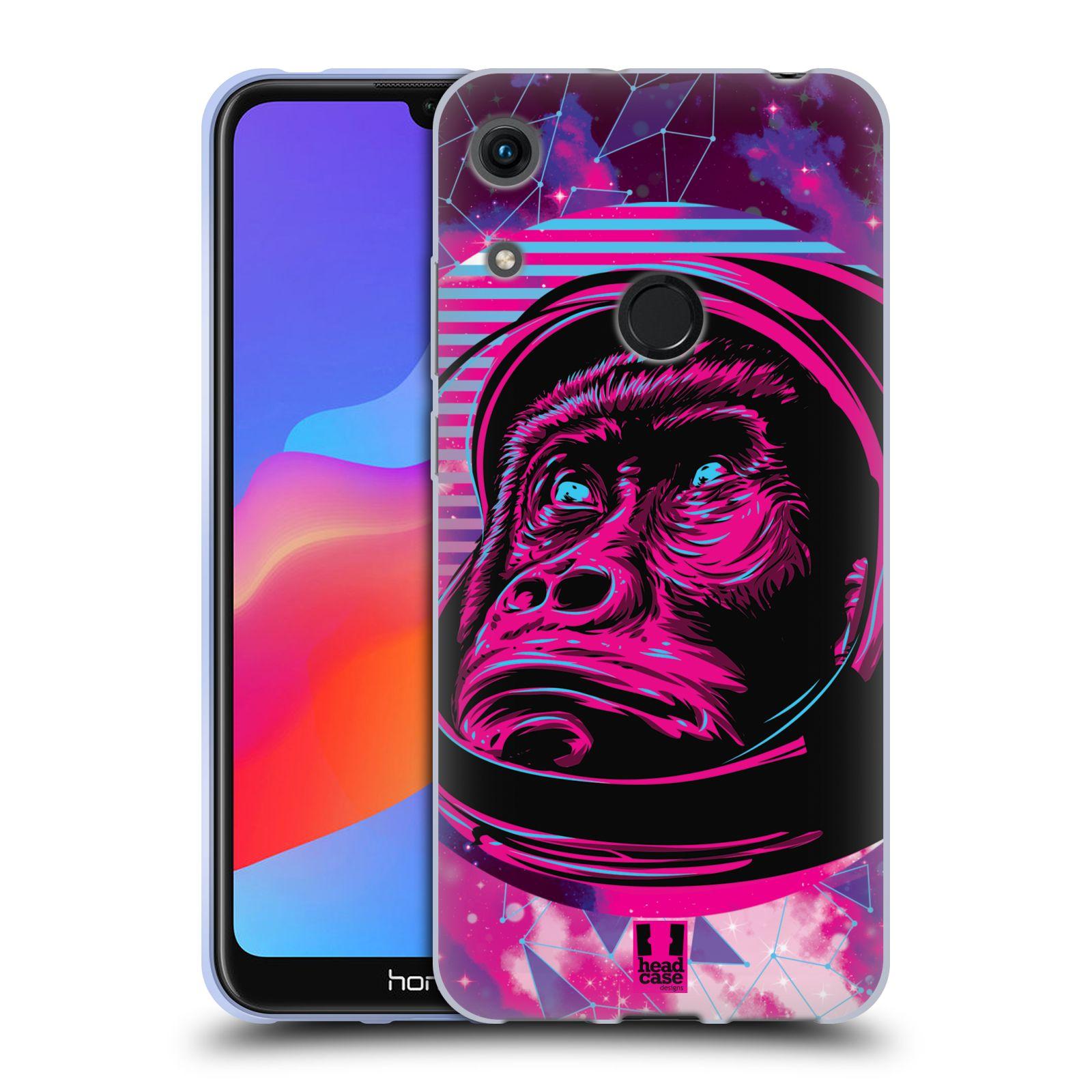 Silikonové pouzdro na mobil Honor 8A - Head Case - Gorila ve skafandru