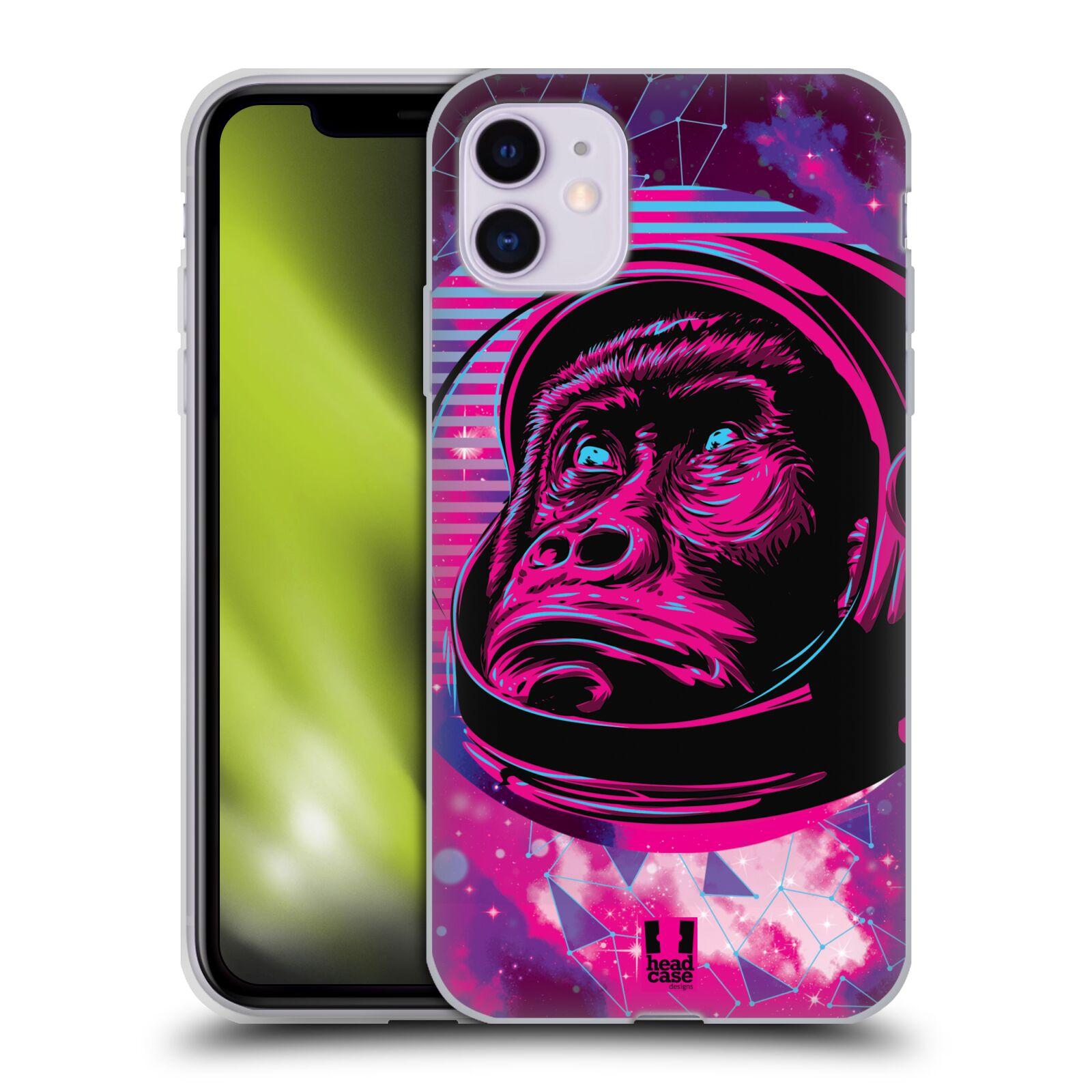 Silikonové pouzdro na mobil Apple iPhone 11 - Head Case - Gorila ve skafandru