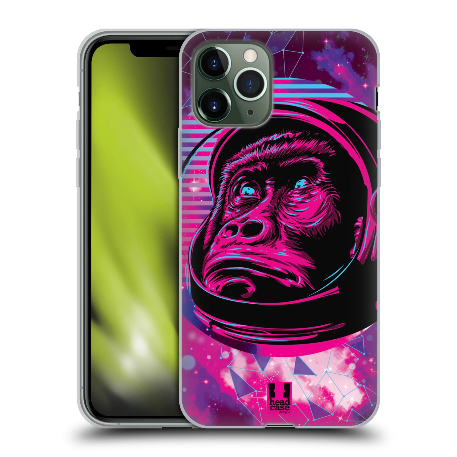 obal na htc one mini , Silikonové pouzdro na mobil Apple iPhone 11 Pro - Head Case - Gorila ve skafandru