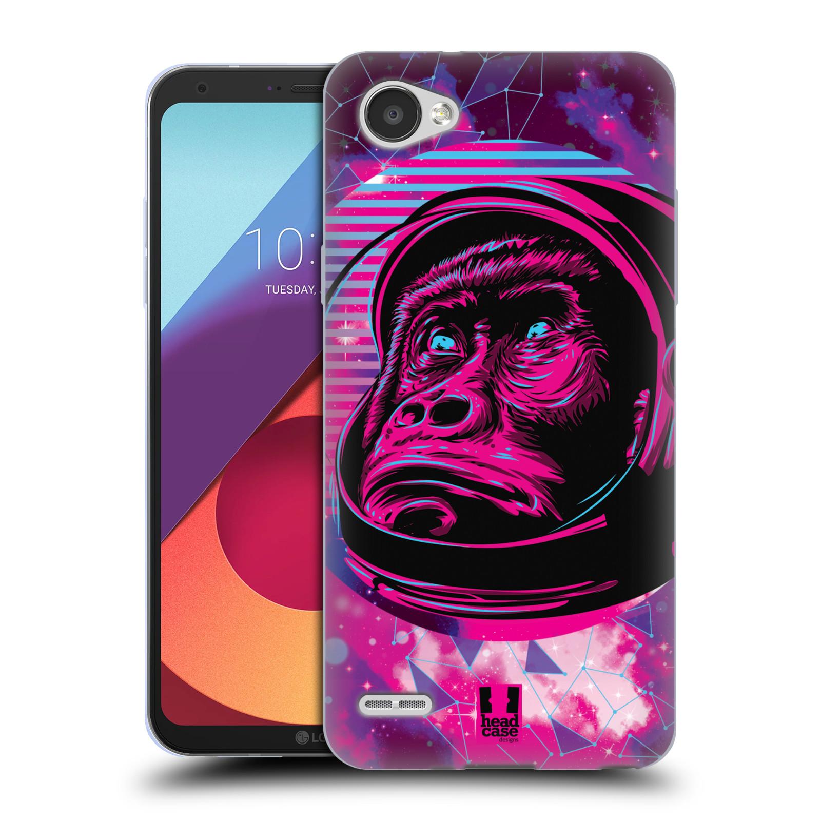 Silikonové pouzdro na mobil LG Q6 - Head Case - Gorila ve skafandru