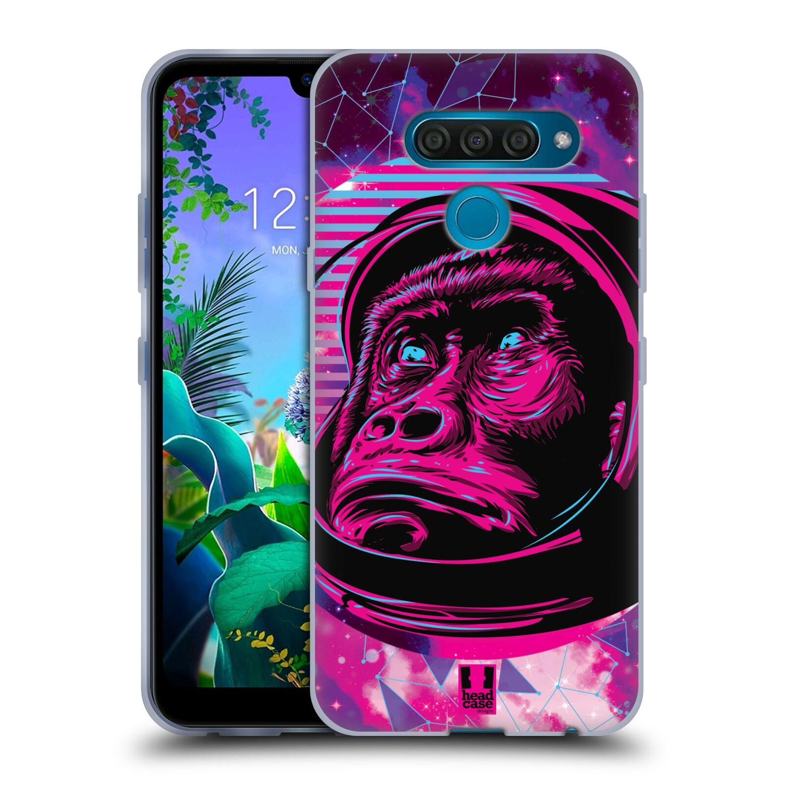 Silikonové pouzdro na mobil LG Q60 - Head Case - Gorila ve skafandru