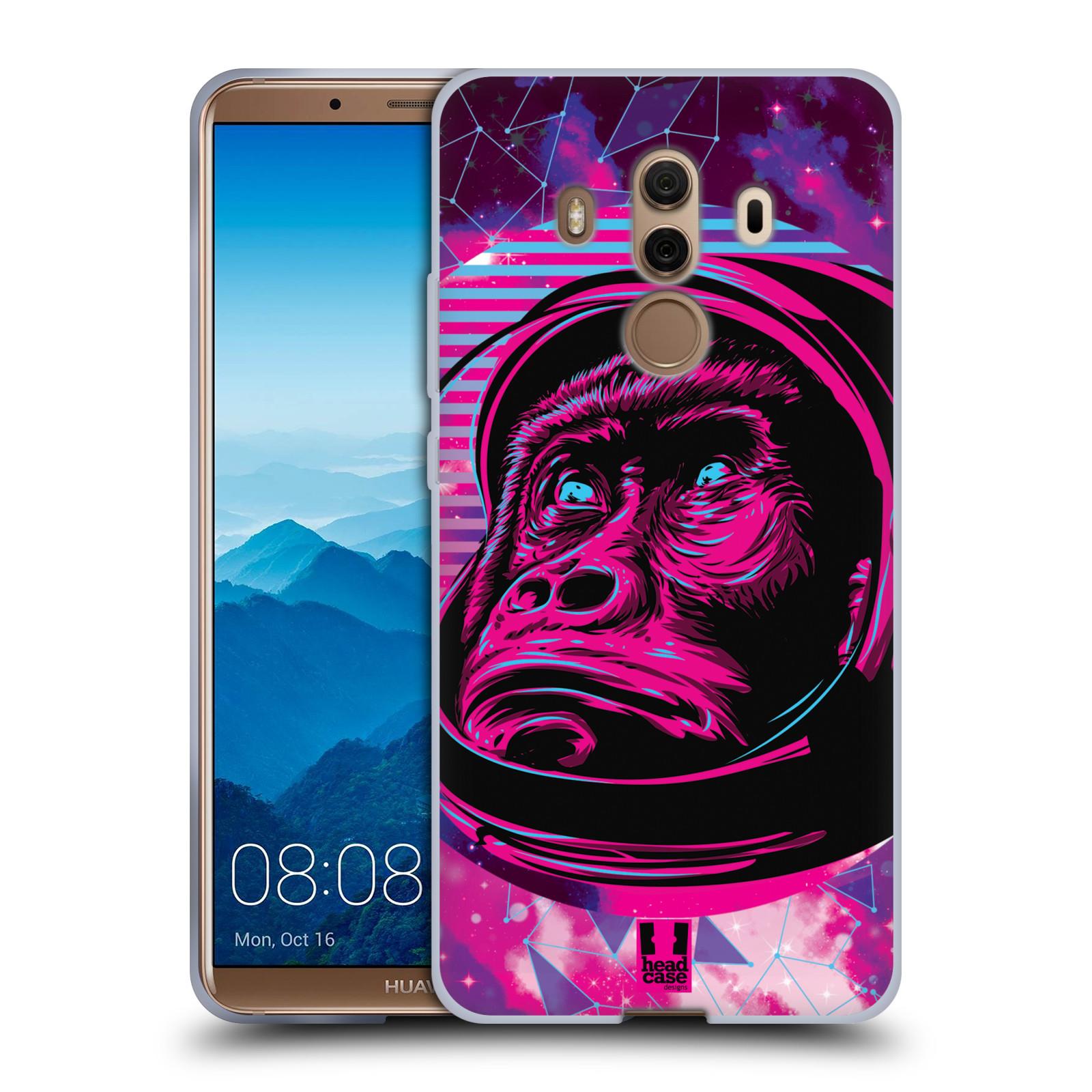 Silikonové pouzdro na mobil Huawei Mate 10 Pro - Head Case - Gorila ve skafandru