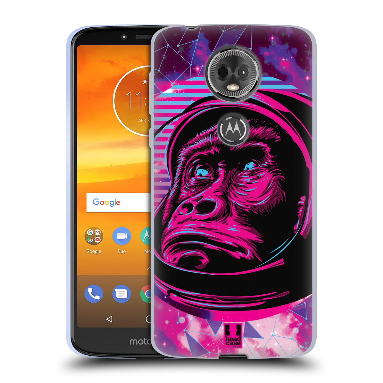 Silikonové pouzdro na mobil Motorola Moto E5 Plus - Head Case - Gorila ve skafandru