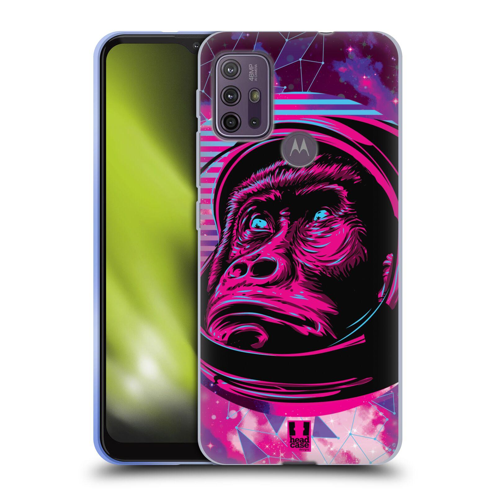 Silikonové pouzdro na mobil Motorola Moto G10 / G30 - Head Case - Gorila ve skafandru