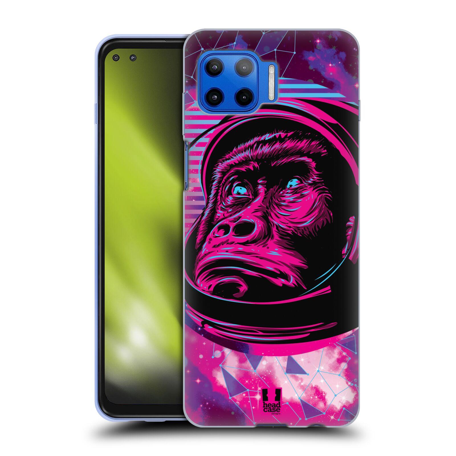 Silikonové pouzdro na mobil Motorola Moto G 5G Plus - Head Case - Gorila ve skafandru