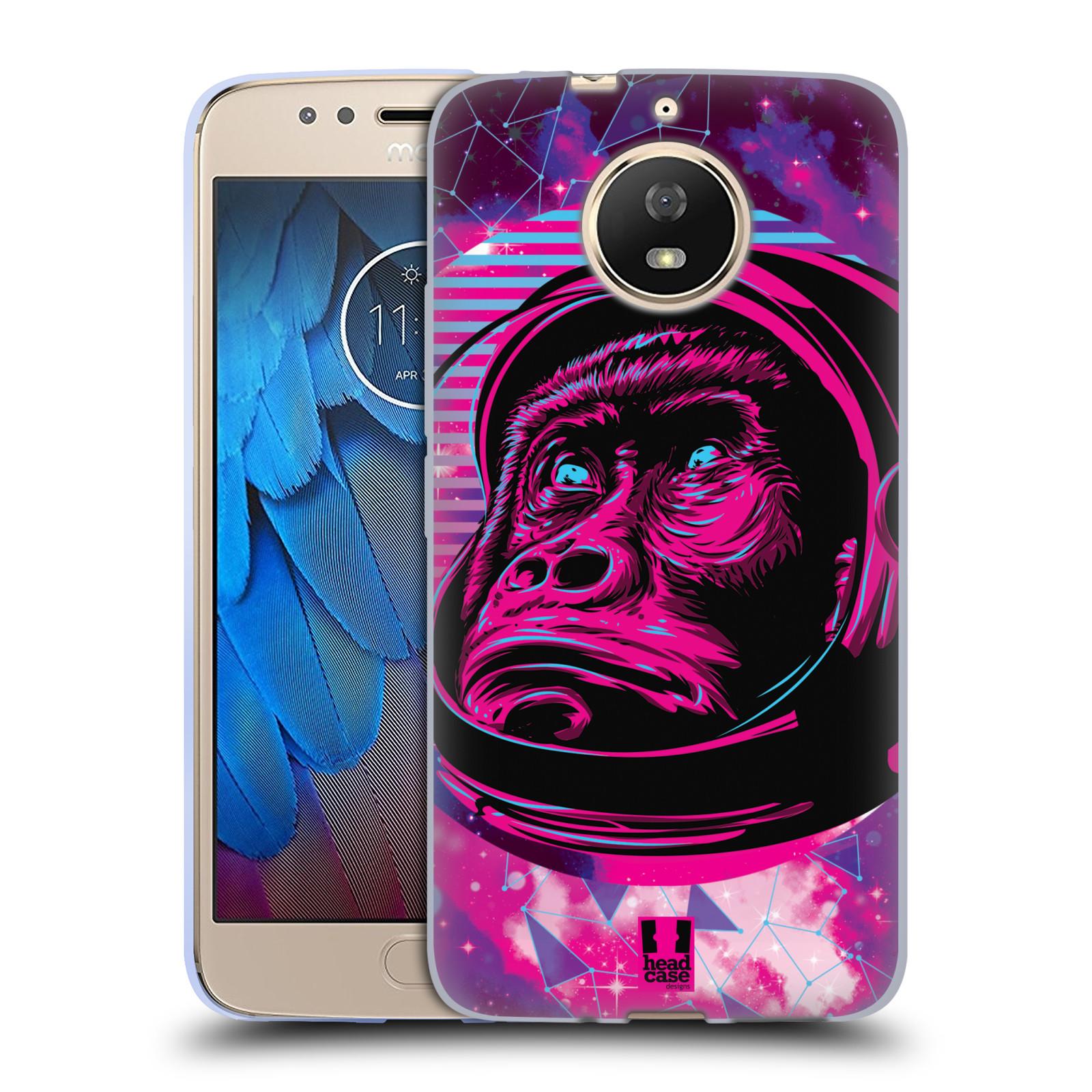 Silikonové pouzdro na mobil Lenovo Moto G5s - Head Case - Gorila ve skafandru