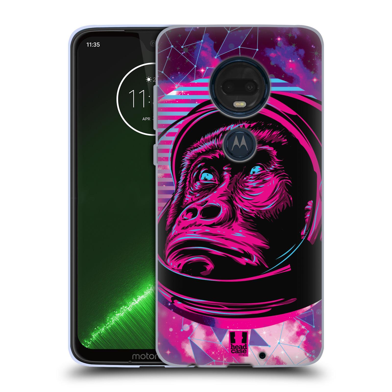 Silikonové pouzdro na mobil Motorola Moto G7 Plus - Head Case - Gorila ve skafandru