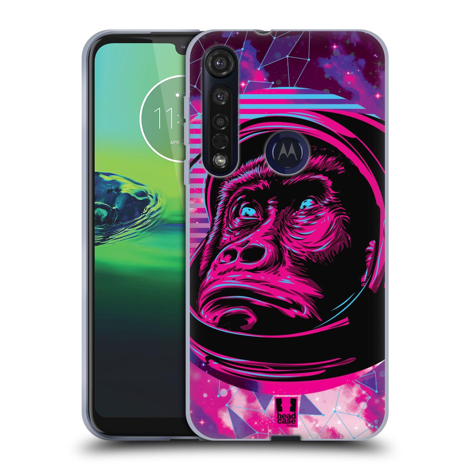 Silikonové pouzdro na mobil Motorola Moto G8 Plus - Head Case - Gorila ve skafandru