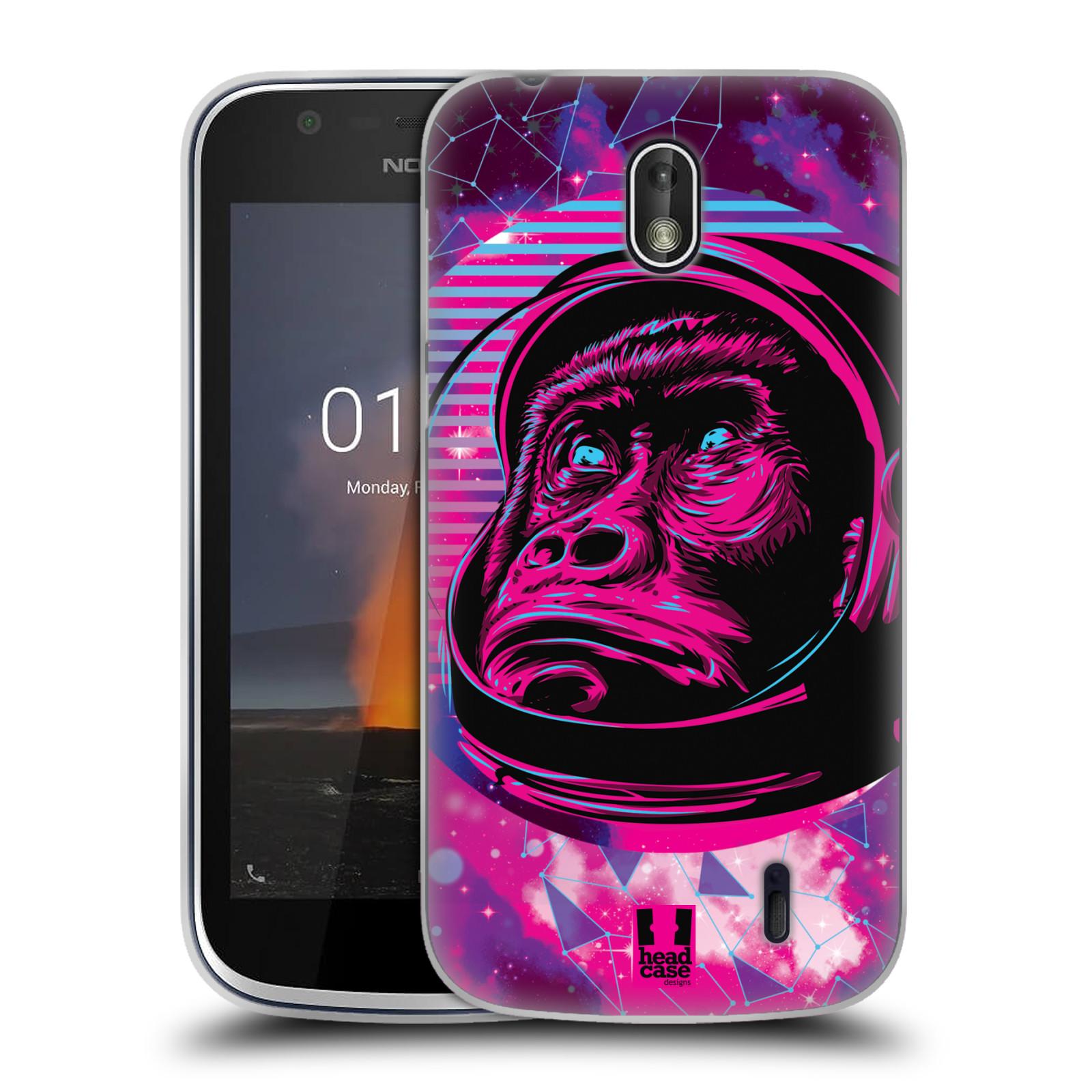 Silikonové pouzdro na mobil Nokia 1 - Head Case - Gorila ve skafandru
