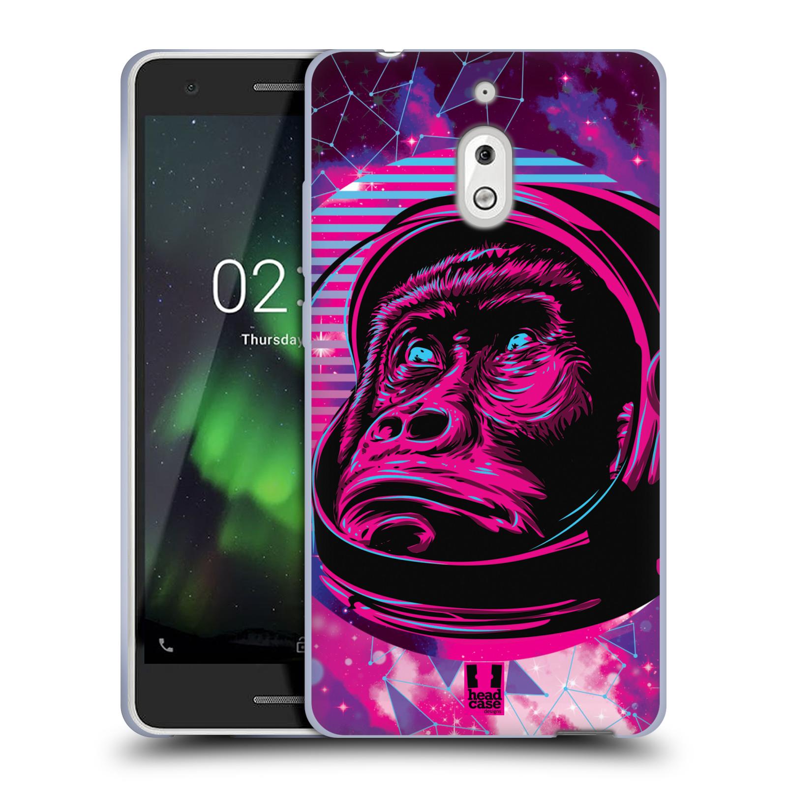 Silikonové pouzdro na mobil Nokia 2.1 - Head Case - Gorila ve skafandru