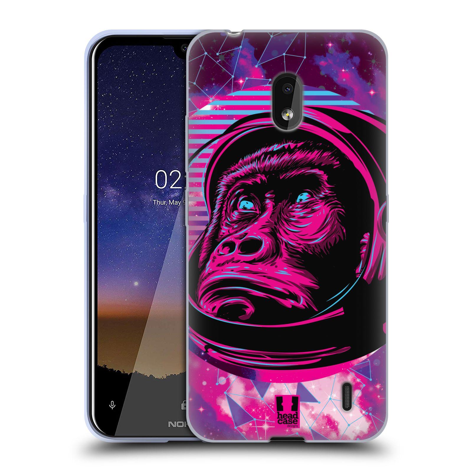 Silikonové pouzdro na mobil Nokia 2.2 - Head Case - Gorila ve skafandru