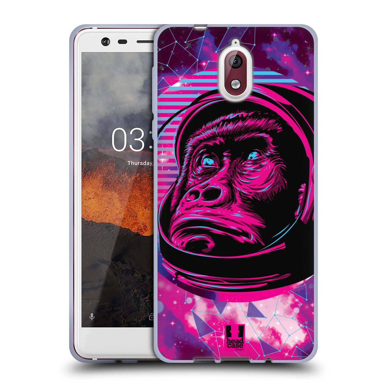 Silikonové pouzdro na mobil Nokia 3.1 - Head Case - Gorila ve skafandru