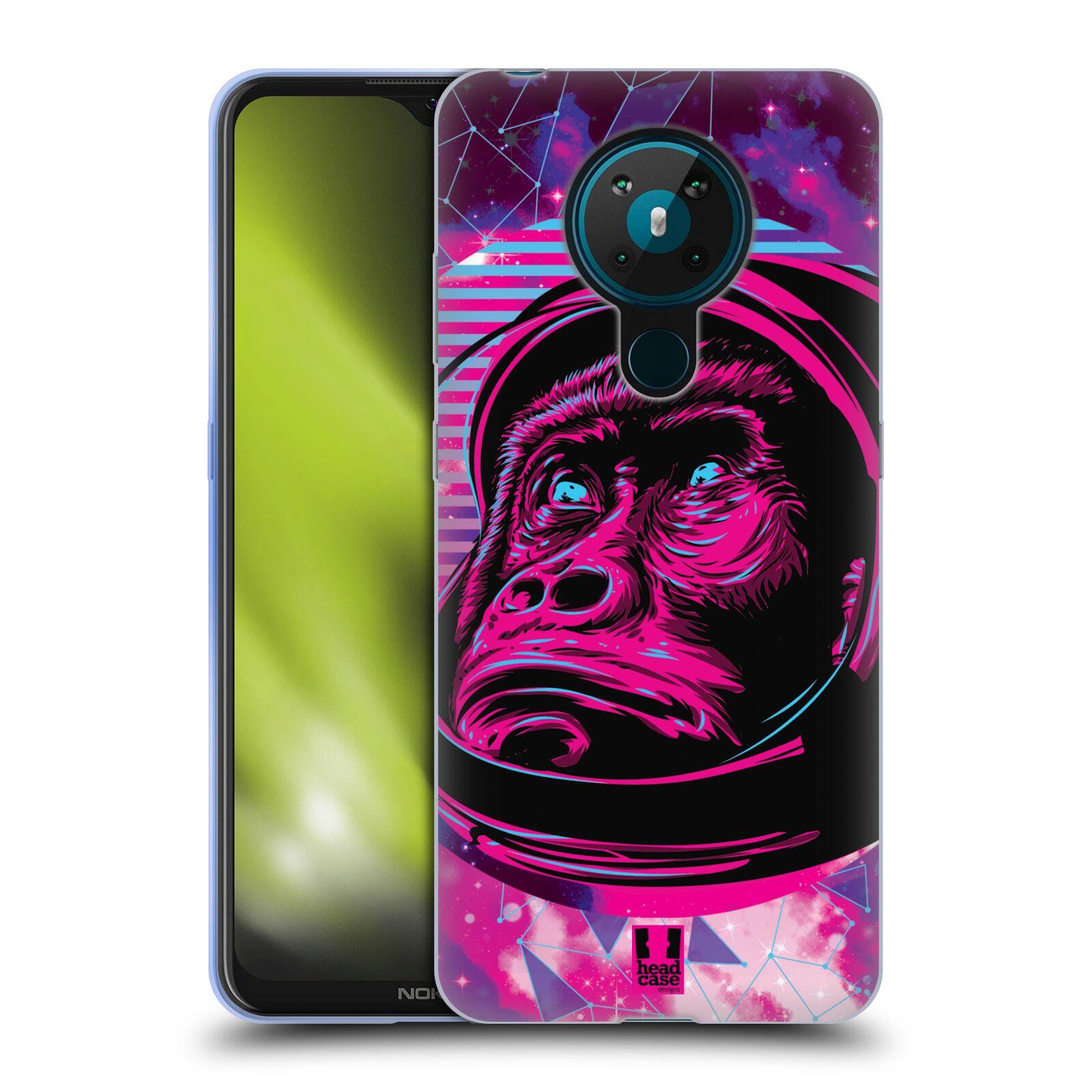 Silikonové pouzdro na mobil Nokia 5.3 - Head Case - Gorila ve skafandru