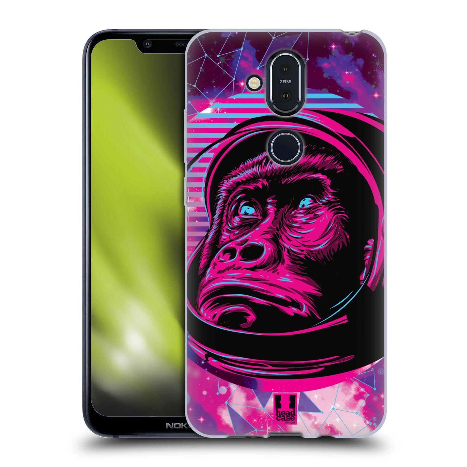 Silikonové pouzdro na mobil Nokia 8.1 - Head Case - Gorila ve skafandru