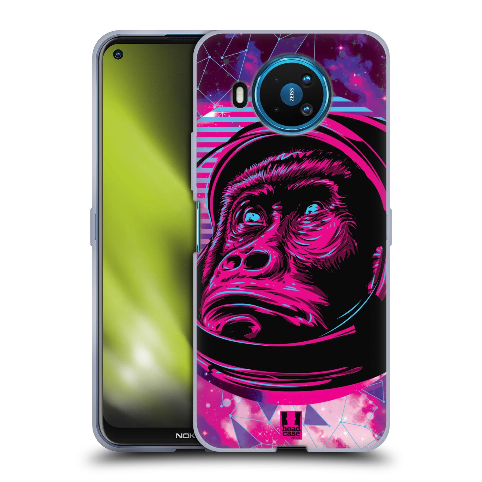 Silikonové pouzdro na mobil Nokia 8.3 5G - Head Case - Gorila ve skafandru