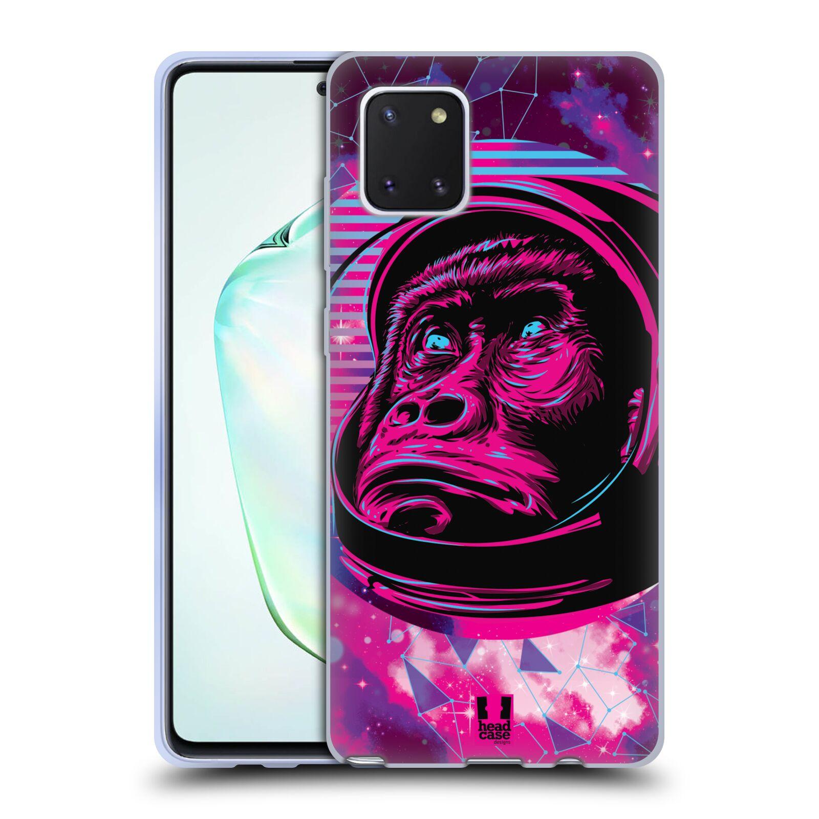 Silikonové pouzdro na mobil Samsung Galaxy Note 10 Lite - Head Case - Gorila ve skafandru