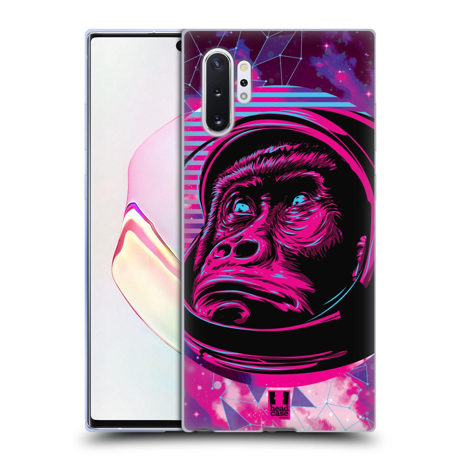 Silikonové pouzdro na mobil Samsung Galaxy Note 10 Plus - Head Case - Gorila ve skafandru