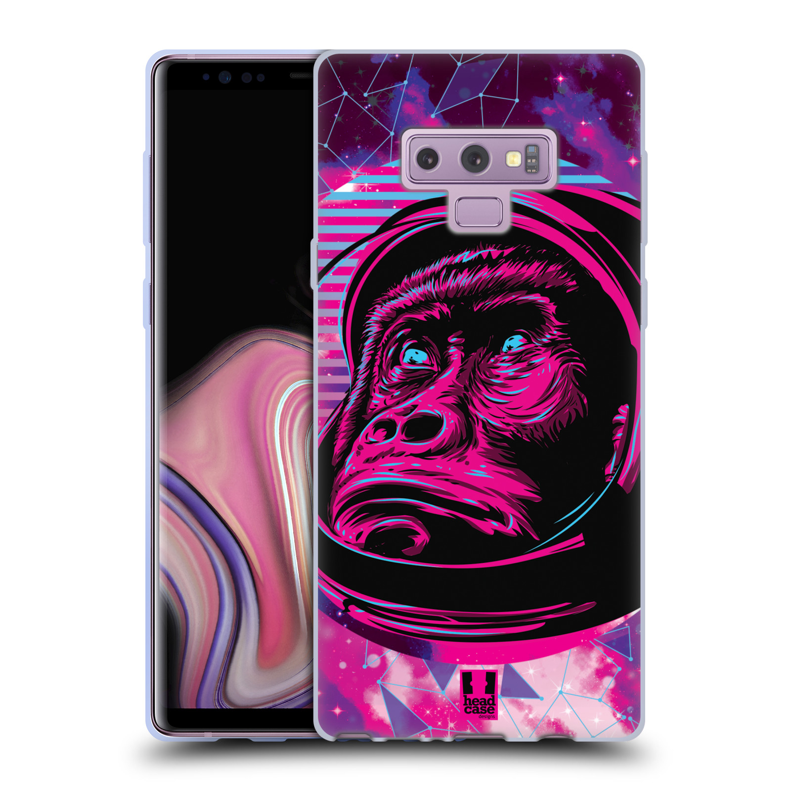 Silikonové pouzdro na mobil Samsung Galaxy Note 9 - Head Case - Gorila ve skafandru