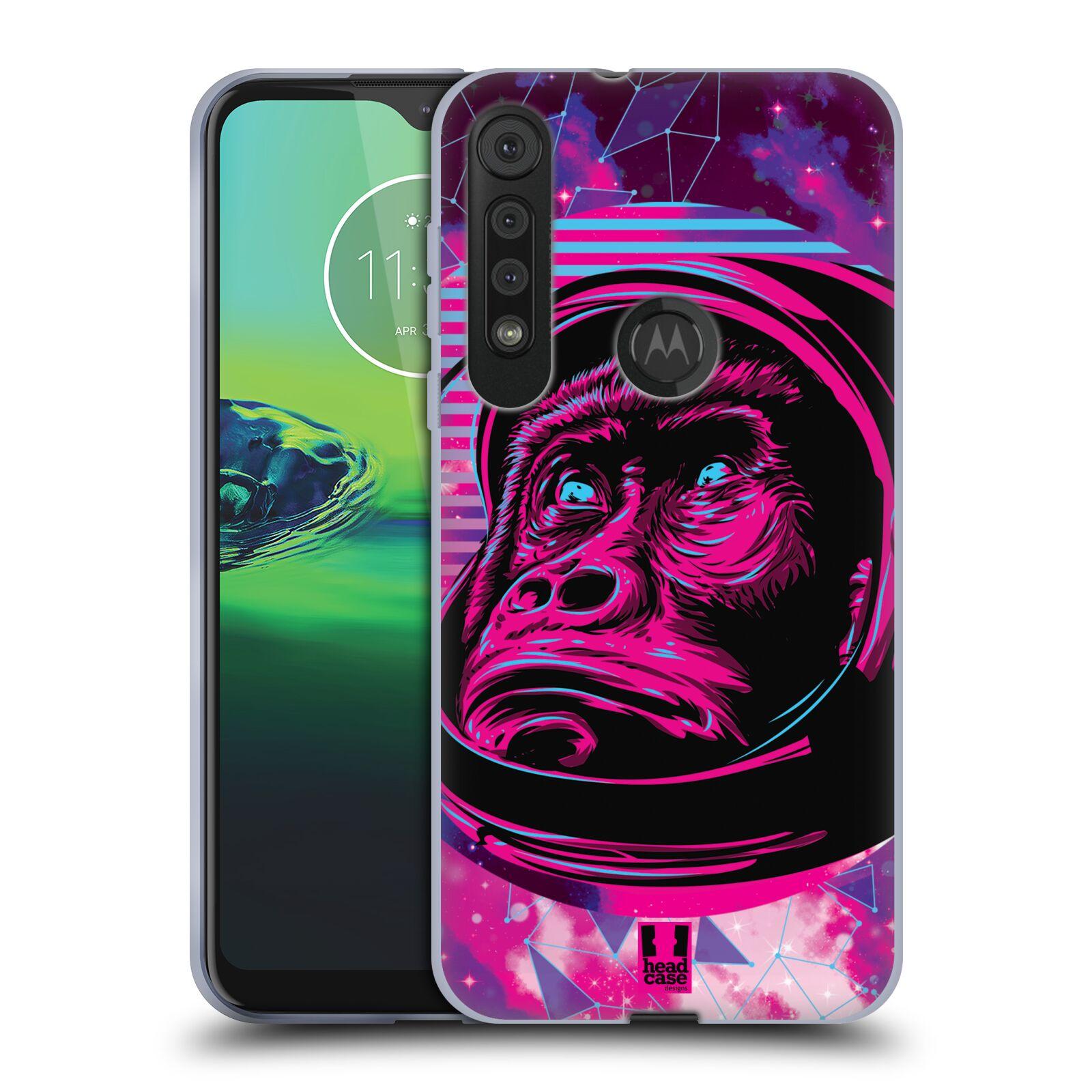 Silikonové pouzdro na mobil Motorola One Macro - Head Case - Gorila ve skafandru