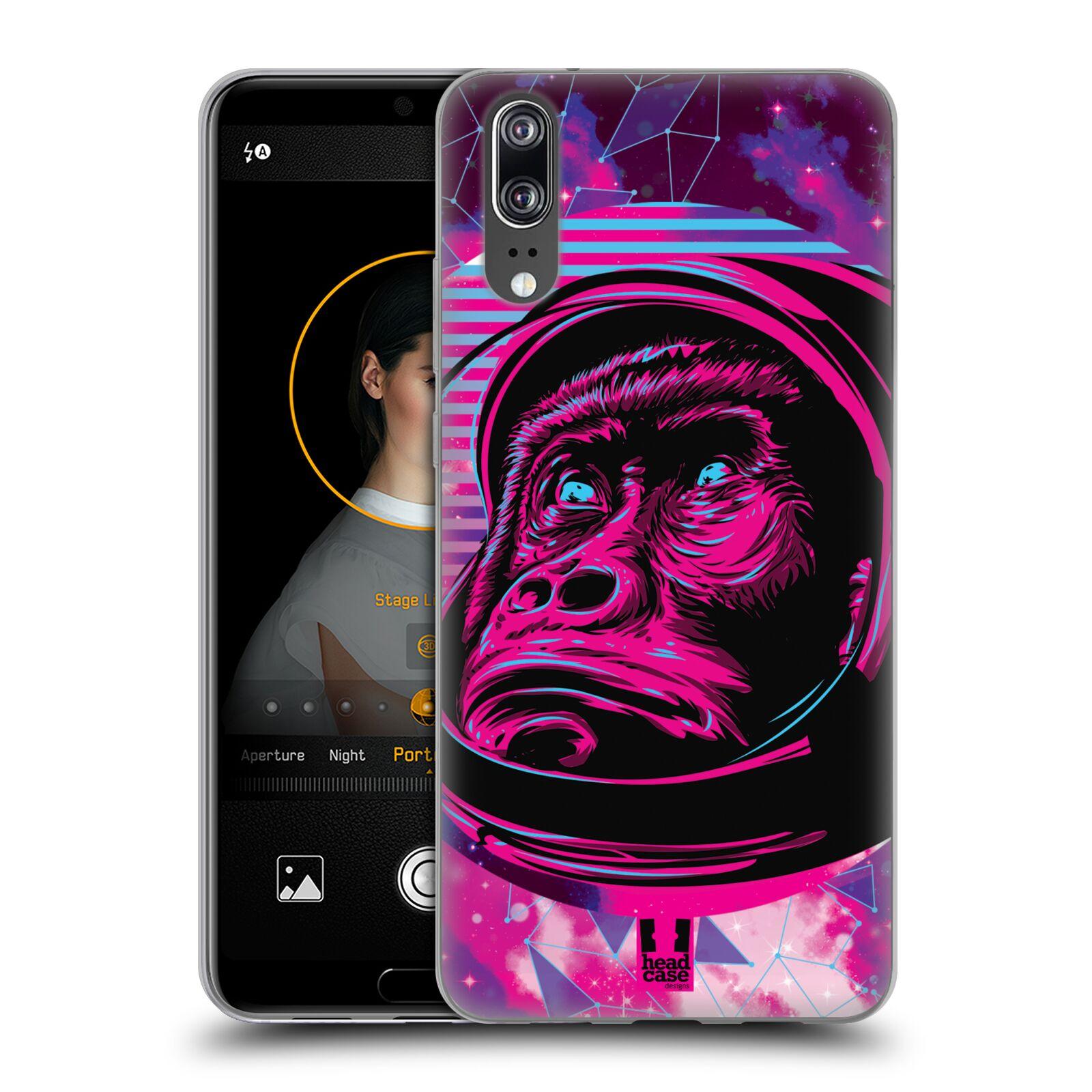 Silikonové pouzdro na mobil Huawei P20 - Head Case - Gorila ve skafandru