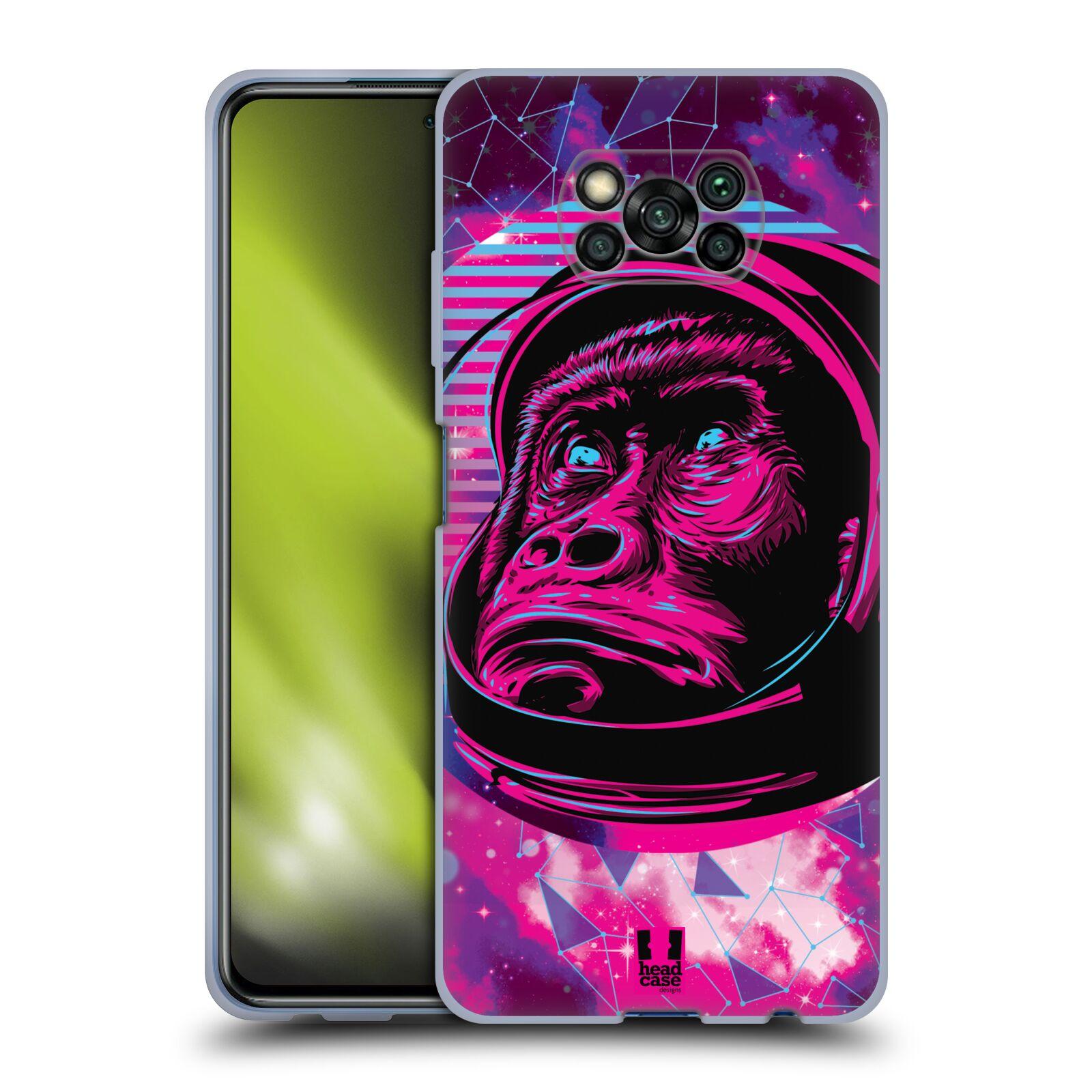 Silikonové pouzdro na mobil Xiaomi Poco X3 NFC - Head Case - Gorila ve skafandru