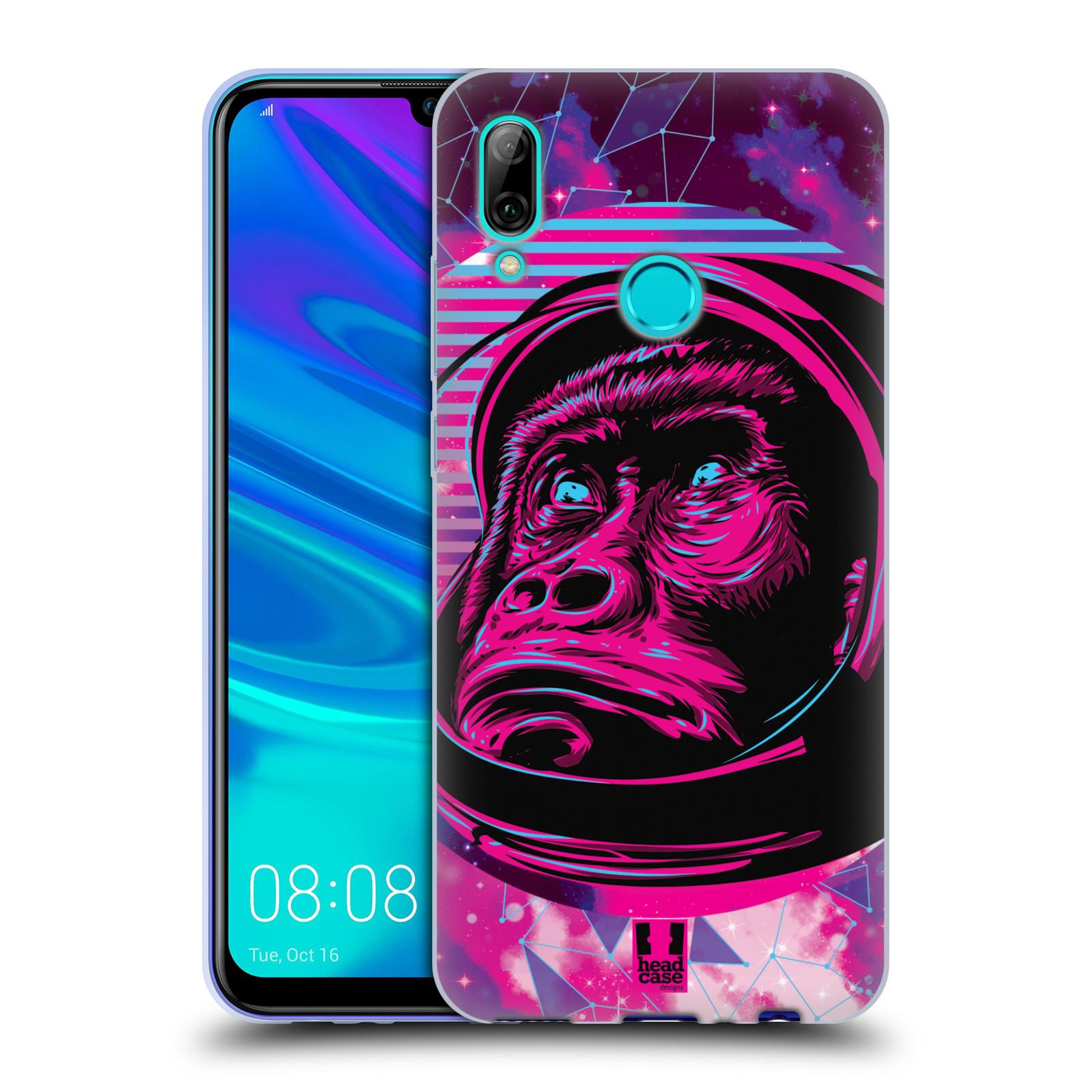 Silikonové pouzdro na mobil Huawei P Smart (2019) - Head Case - Gorila ve skafandru