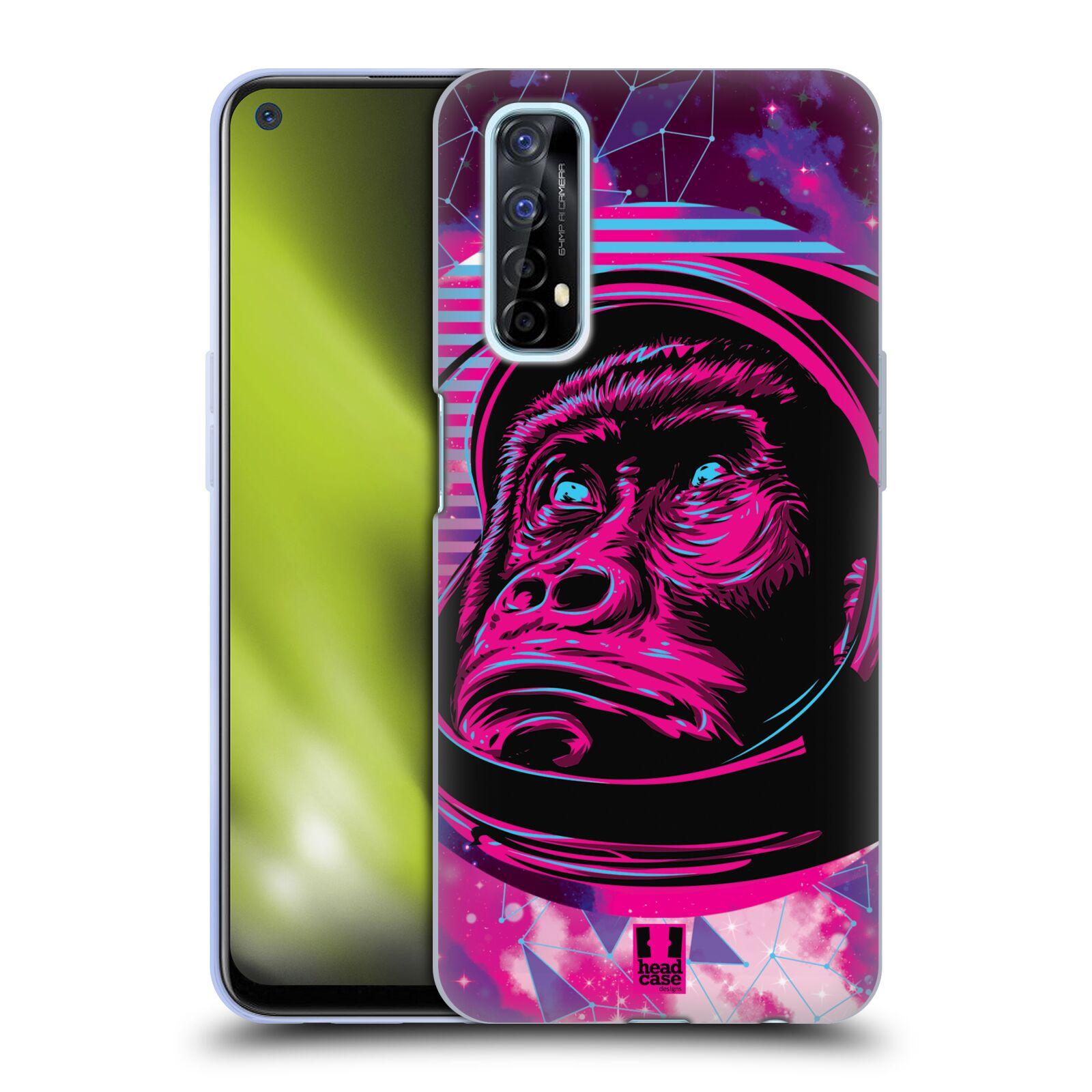 Silikonové pouzdro na mobil Realme 7 - Head Case - Gorila ve skafandru