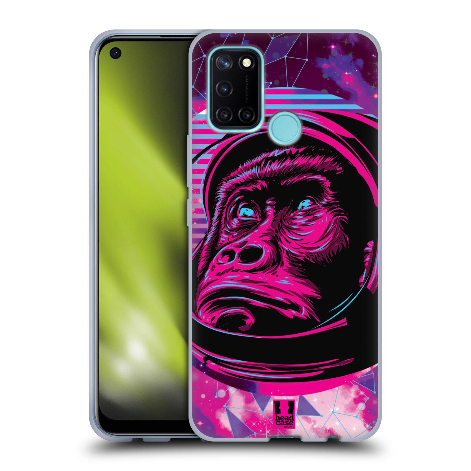 Silikonové pouzdro na mobil Realme 7i - Head Case - Gorila ve skafandru