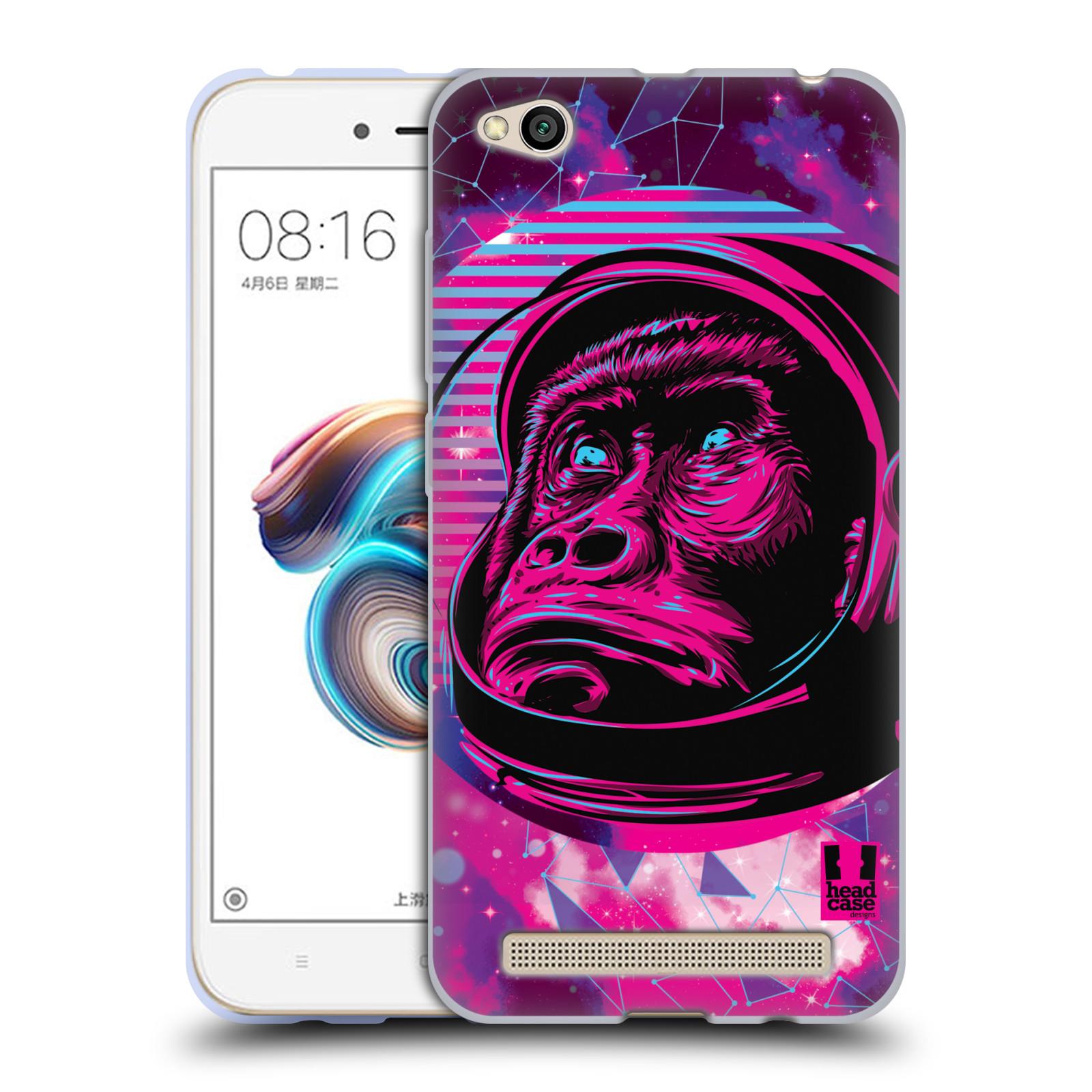 Silikonové pouzdro na mobil Xiaomi Redmi 5A - Head Case - Gorila ve skafandru