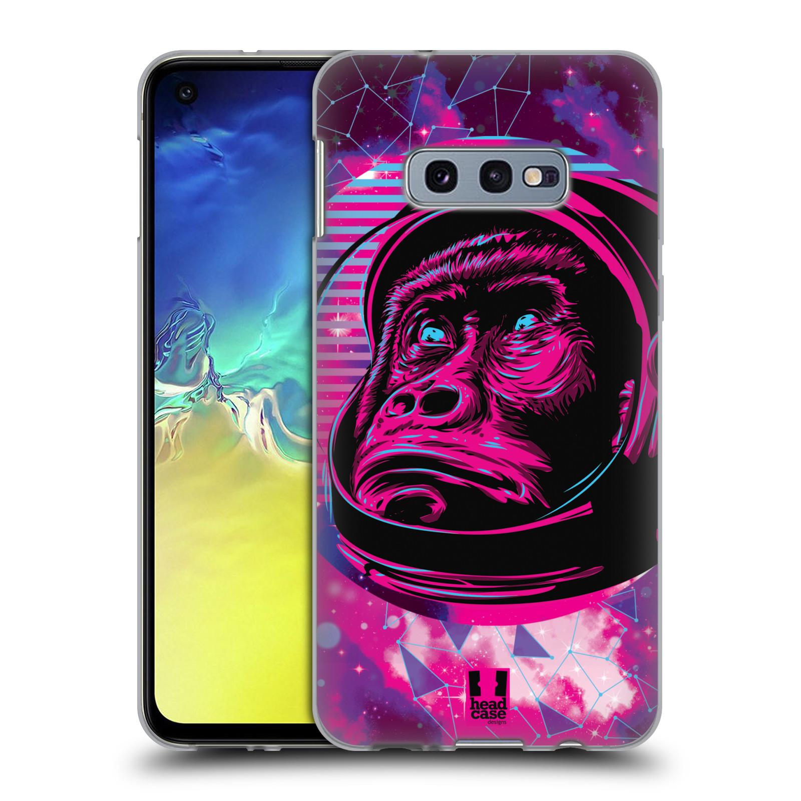 Silikonové pouzdro na mobil Samsung Galaxy S10e - Head Case - Gorila ve skafandru