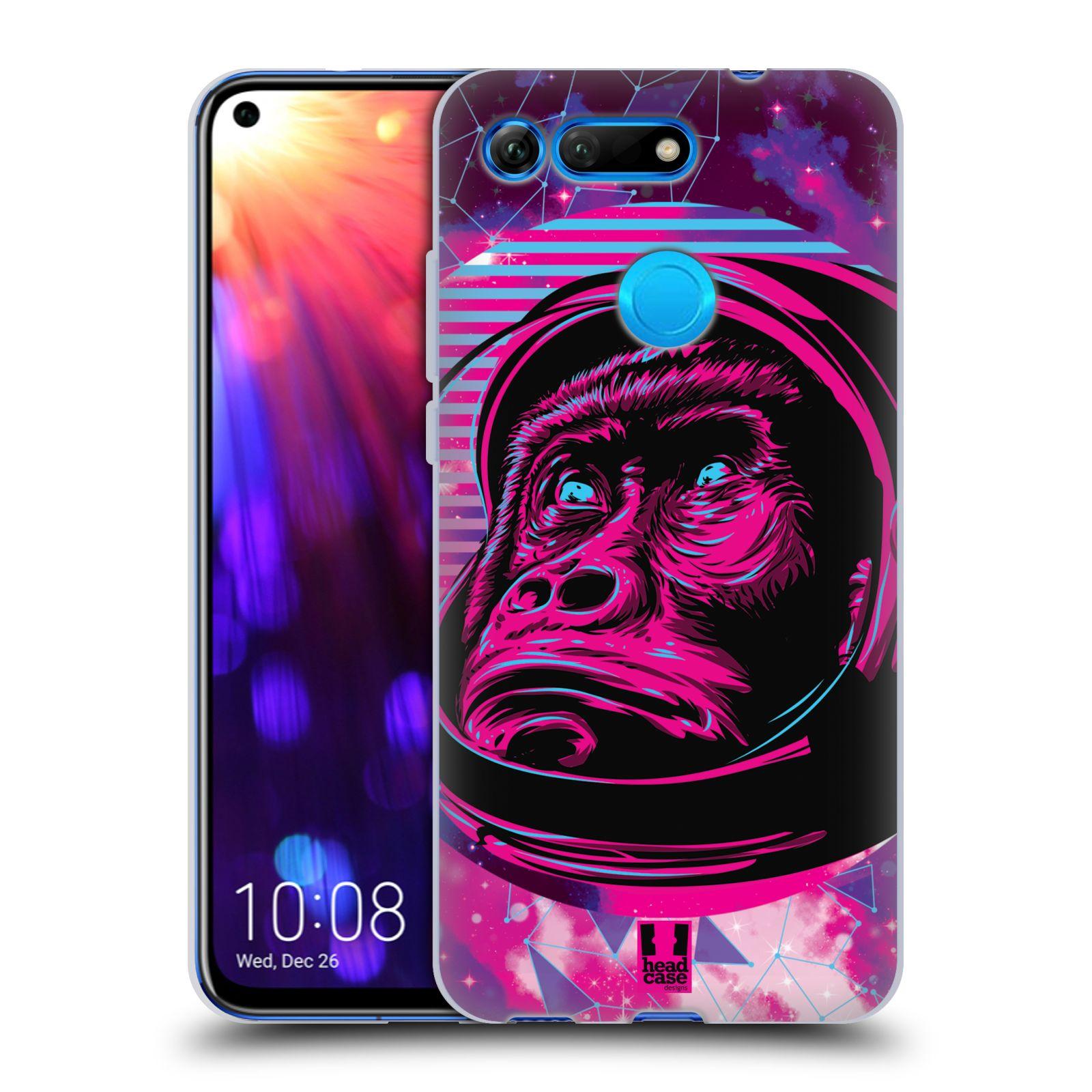 Silikonové pouzdro na mobil Honor View 20 - Head Case - Gorila ve skafandru