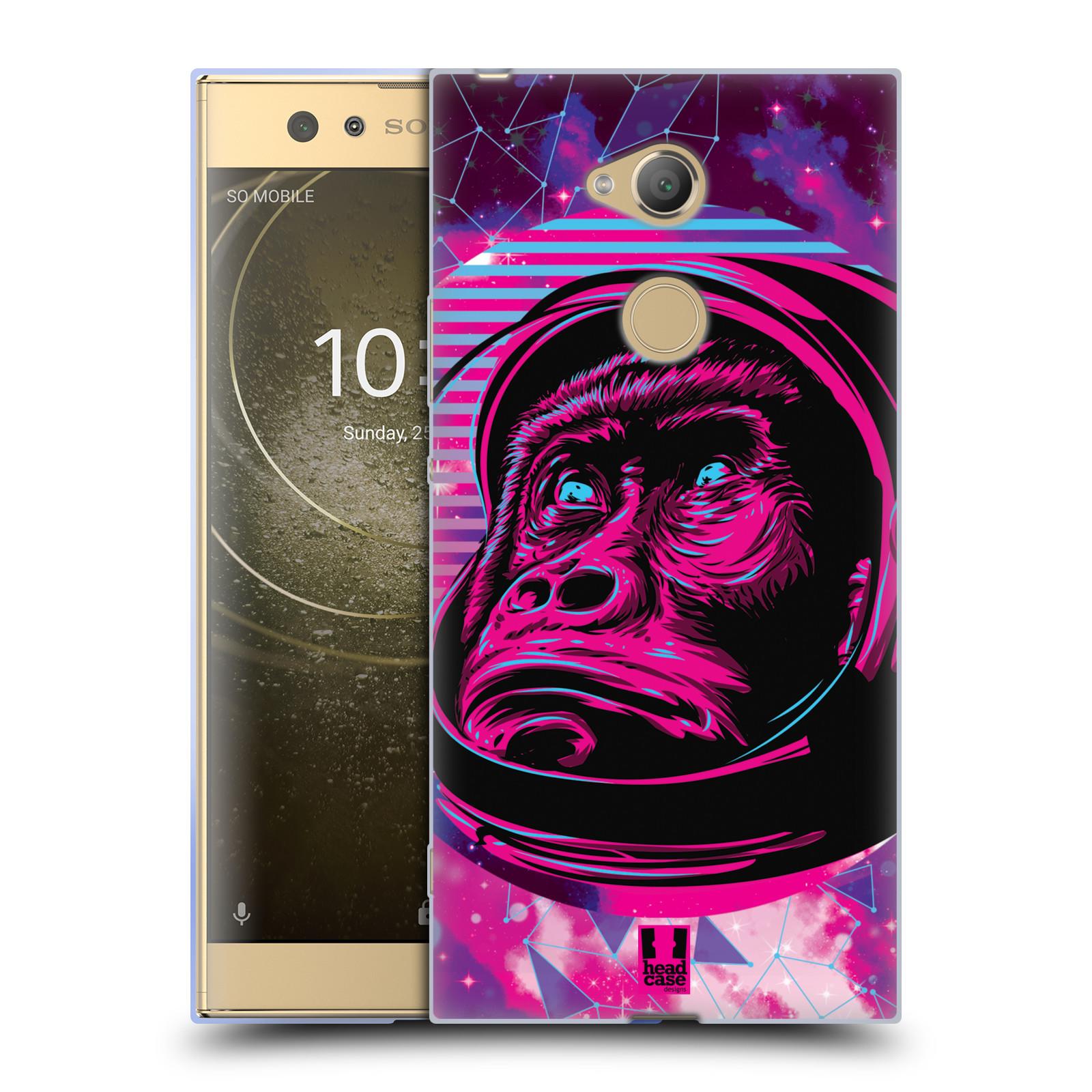 Silikonové pouzdro na mobil Sony Xperia XA2 Ultra - Head Case - Gorila ve skafandru