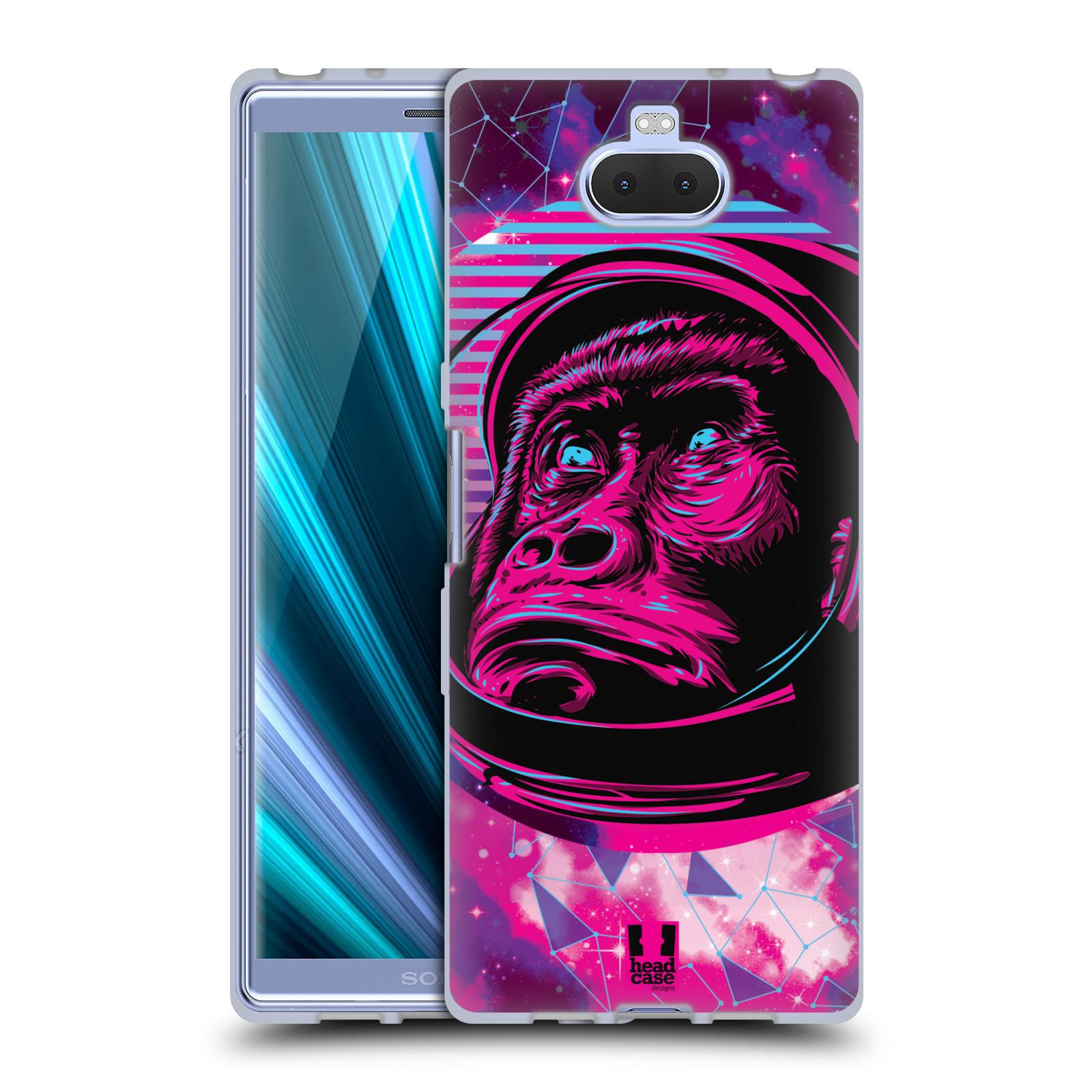 Silikonové pouzdro na mobil Sony Xperia 10 - Head Case - Gorila ve skafandru