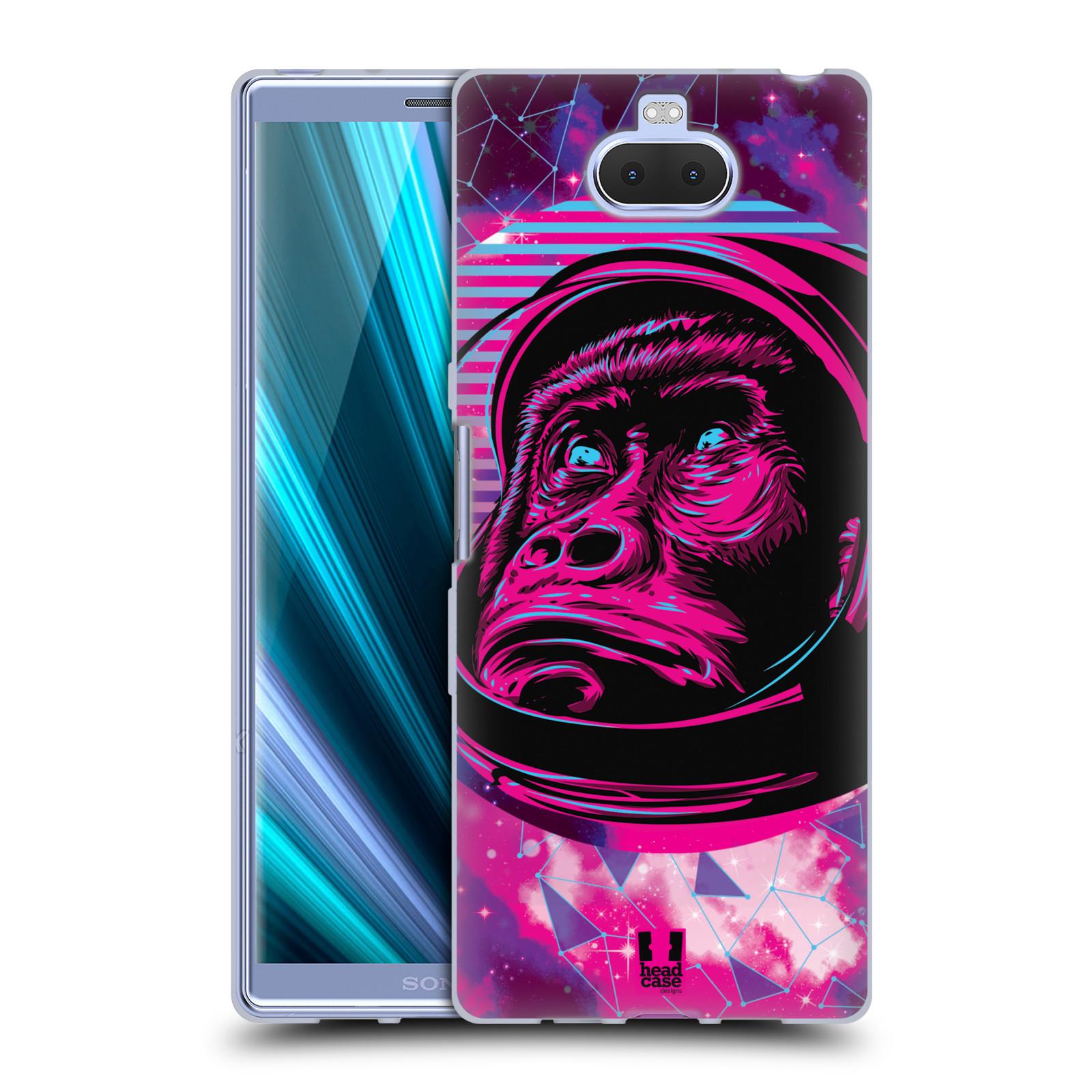 Silikonové pouzdro na mobil Sony Xperia 10 Plus - Head Case - Gorila ve skafandru