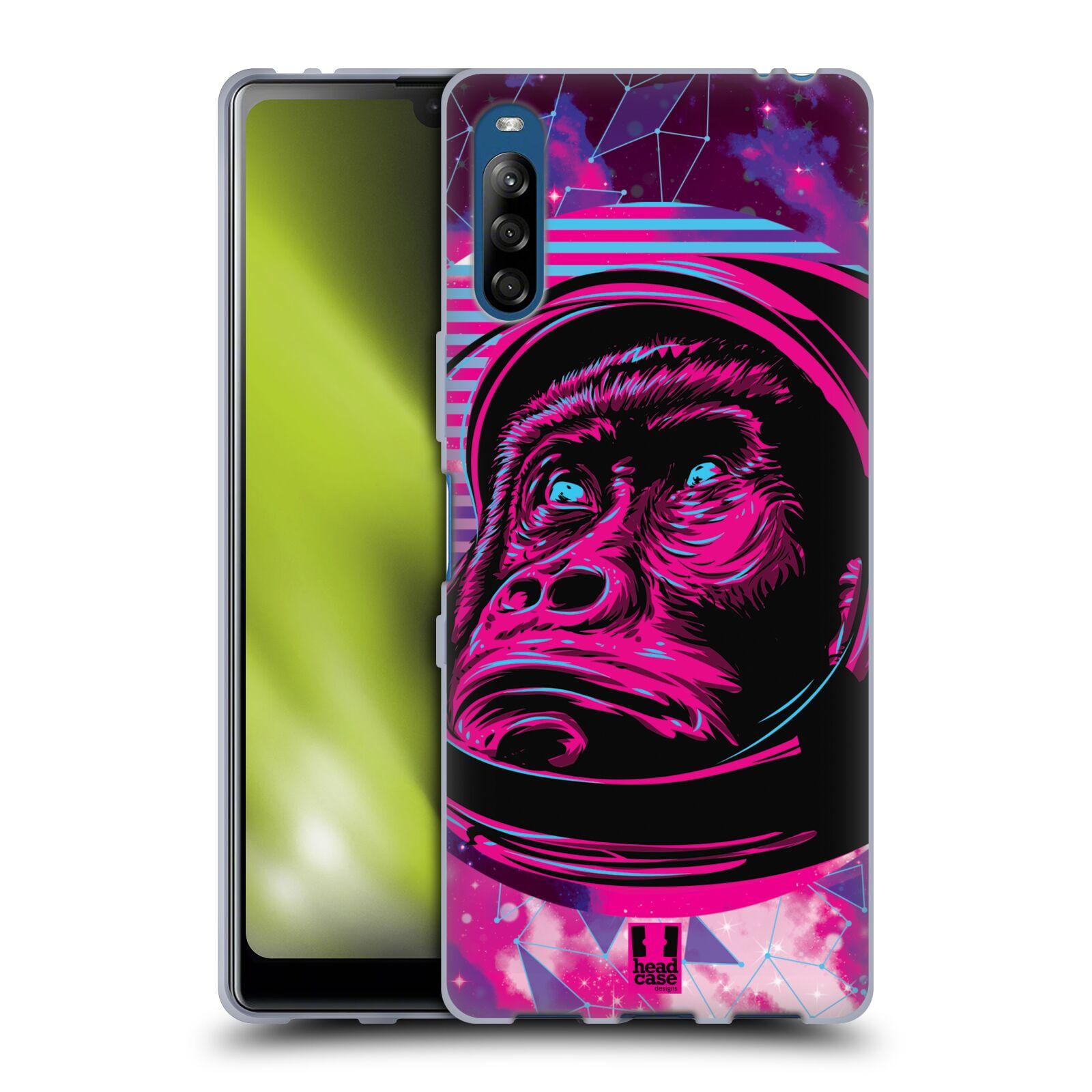 Silikonové pouzdro na mobil Sony Xperia L4 - Head Case - Gorila ve skafandru