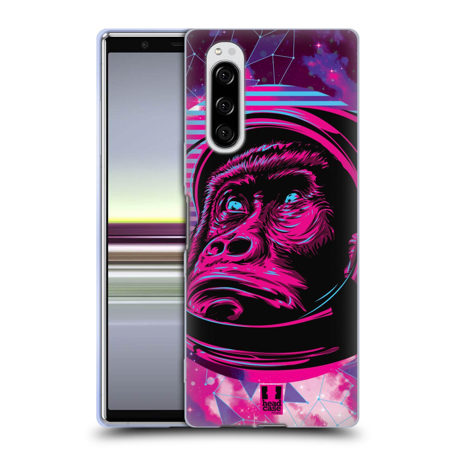 Silikonové pouzdro na mobil Sony Xperia 5 - Head Case - Gorila ve skafandru