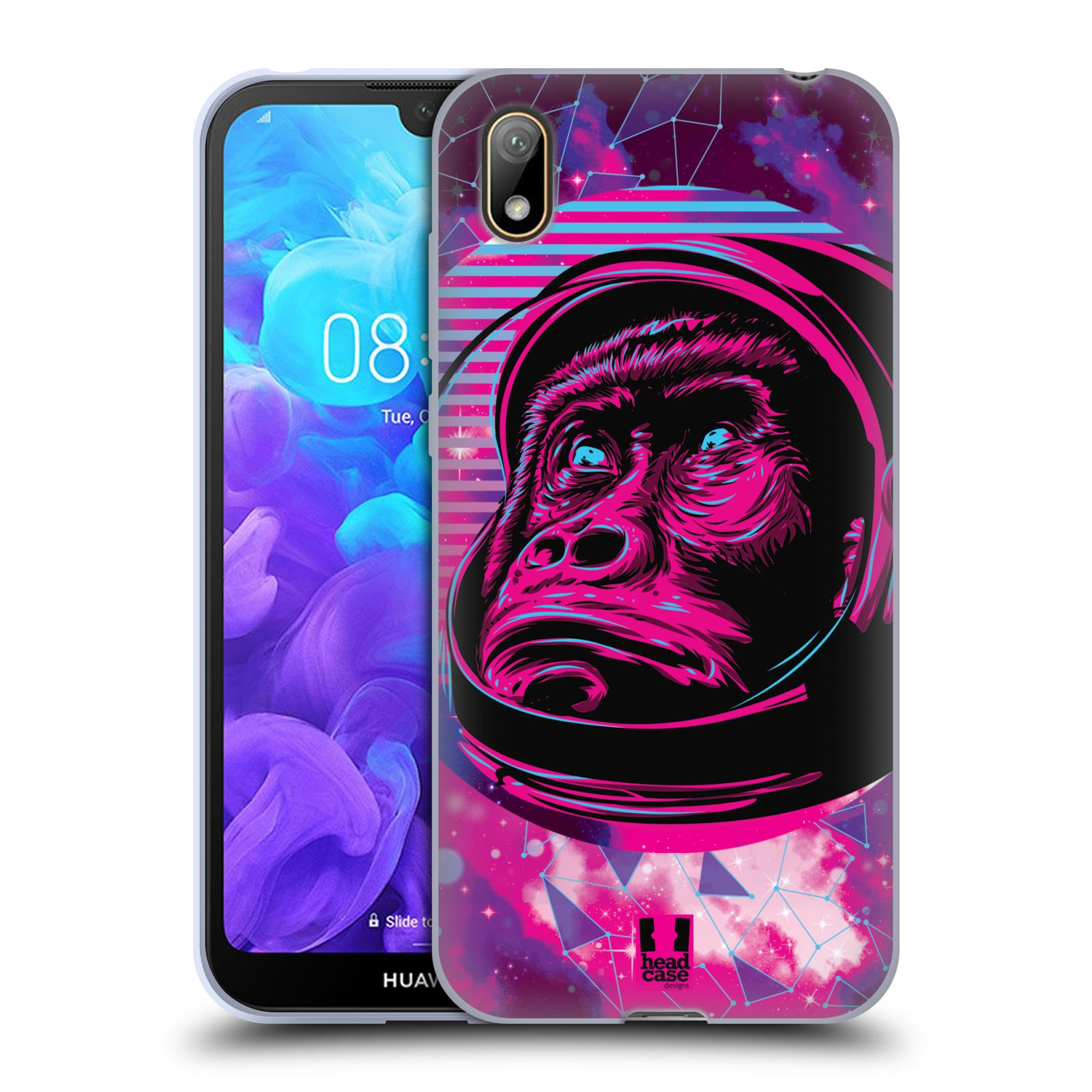 Silikonové pouzdro na mobil Huawei Y5 (2019) - Head Case - Gorila ve skafandru