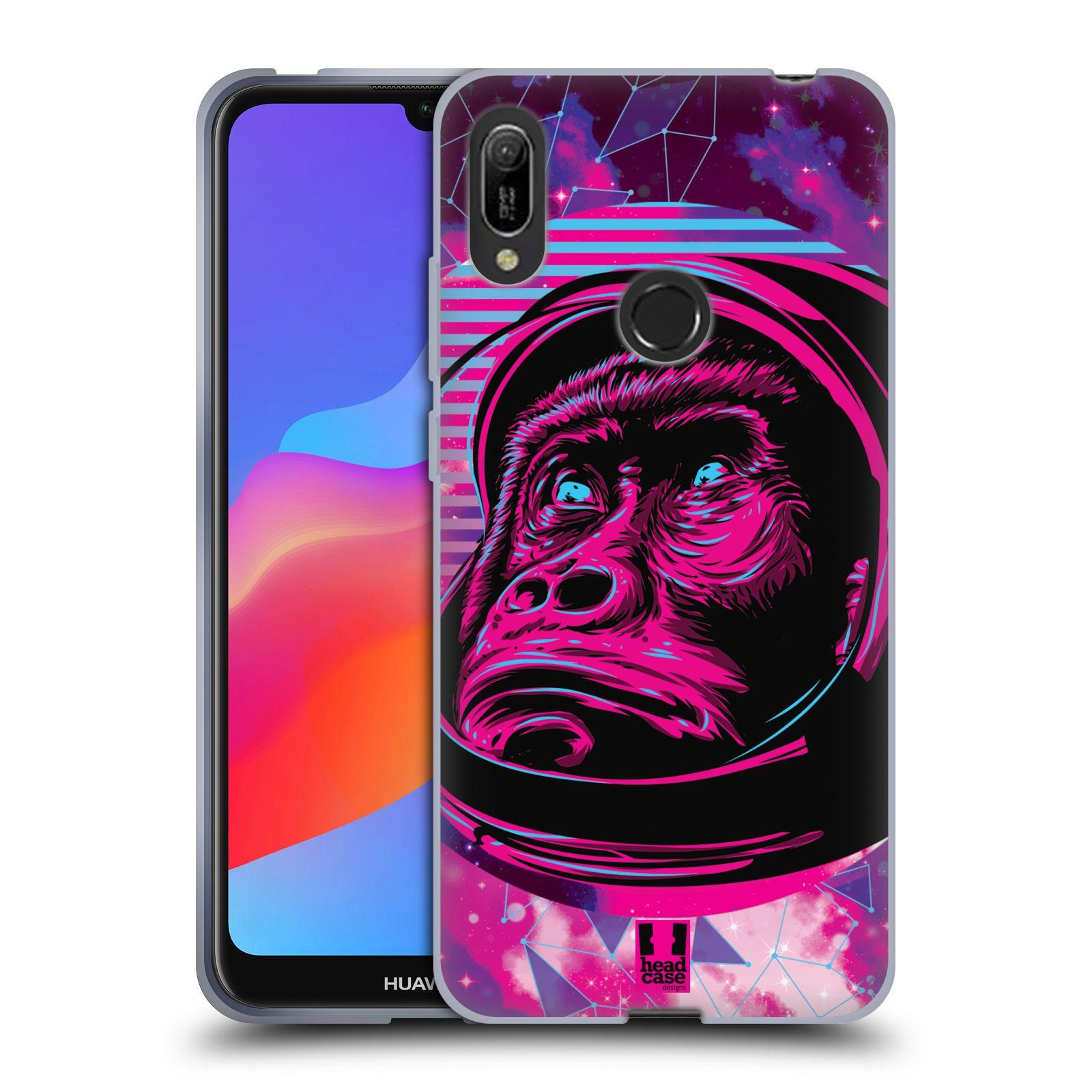 Silikonové pouzdro na mobil Huawei Y6 (2019) - Head Case - Gorila ve skafandru