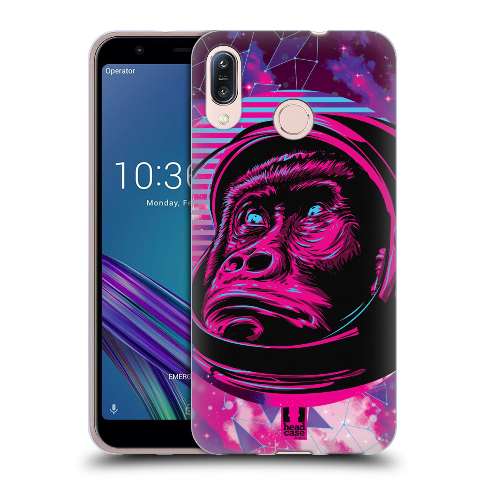 Silikonové pouzdro na mobil Asus Zenfone Max M1 ZB555KL - Head Case - Gorila ve skafandru