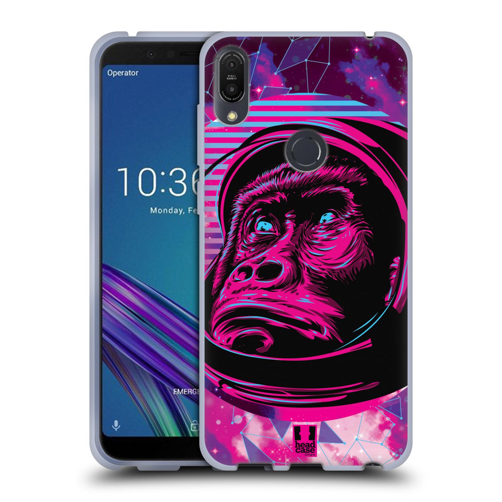 Silikonové pouzdro na mobil Asus ZenFone Max Pro (M1) - Head Case - Gorila ve skafandru