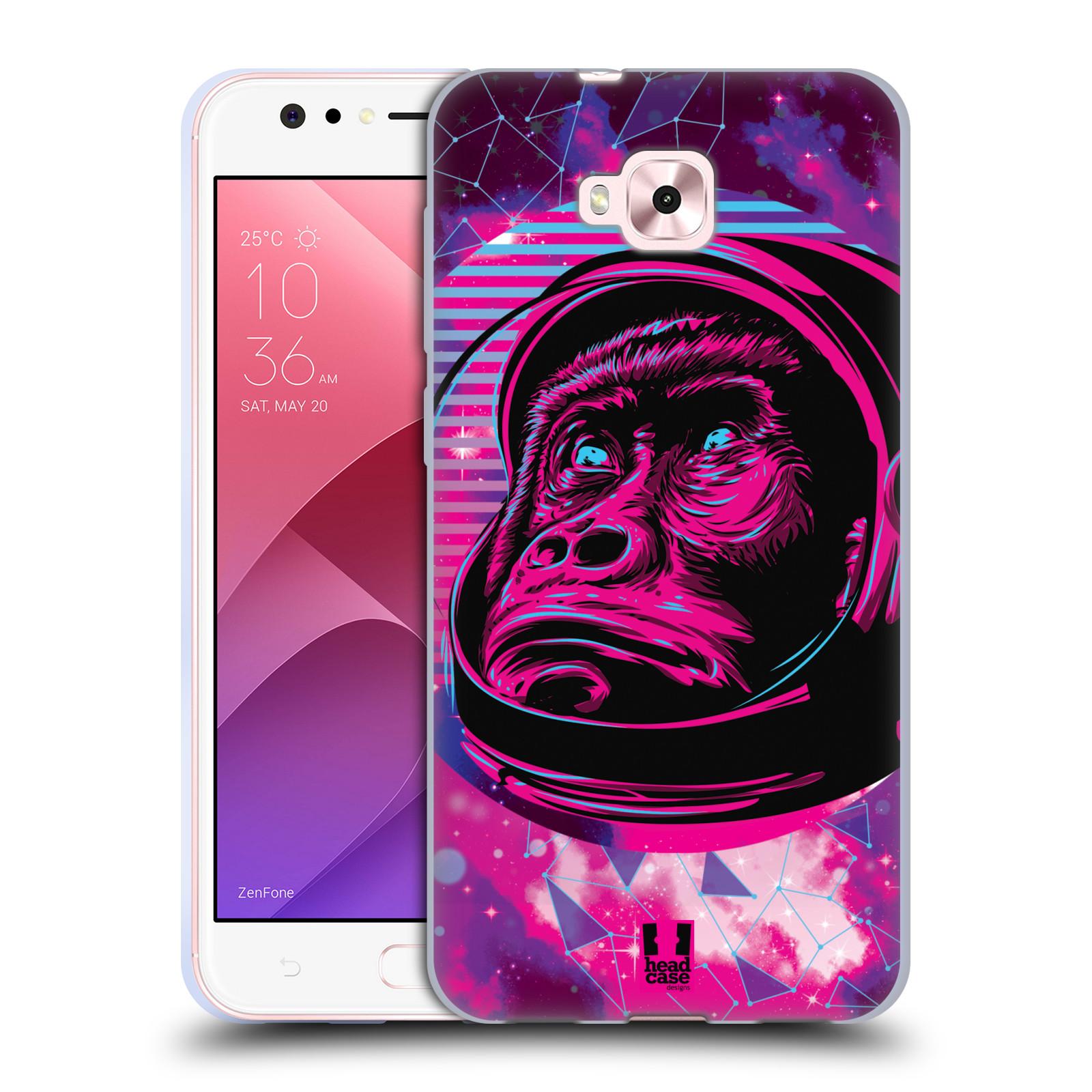 Silikonové pouzdro na mobil Asus Zenfone 4 Selfie ZD553KL - Head Case - Gorila ve skafandru
